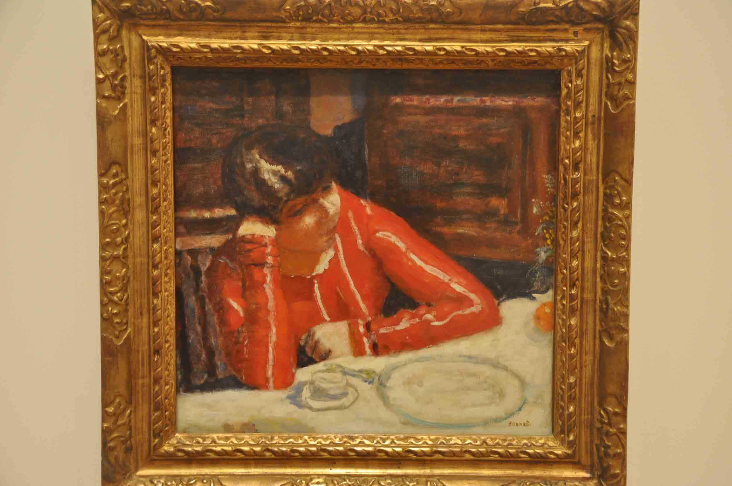 Pierre Bonnard - Red Blouse, 1925