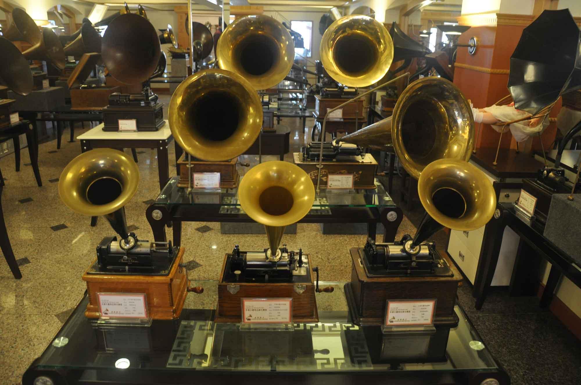 Vintage Sounds Museum gramaphones