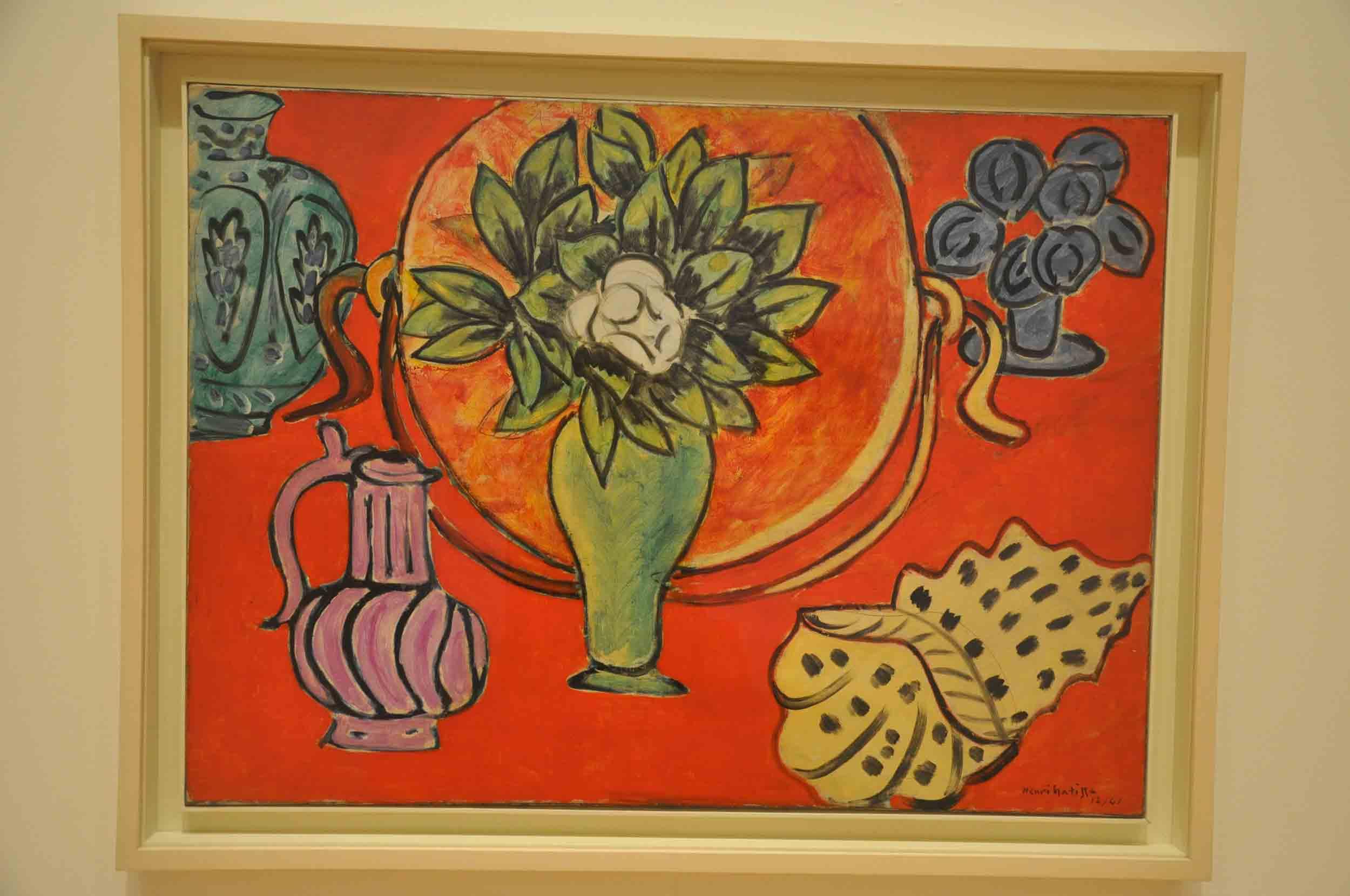 Henri Matisse - Still Life of Magnolia