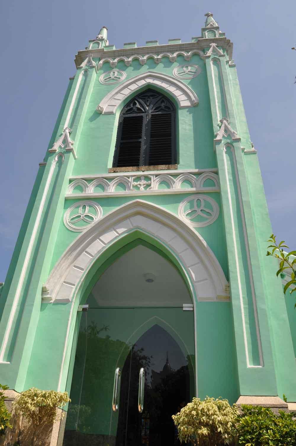 Chapel of St. Michael St. Lazarus District Macau