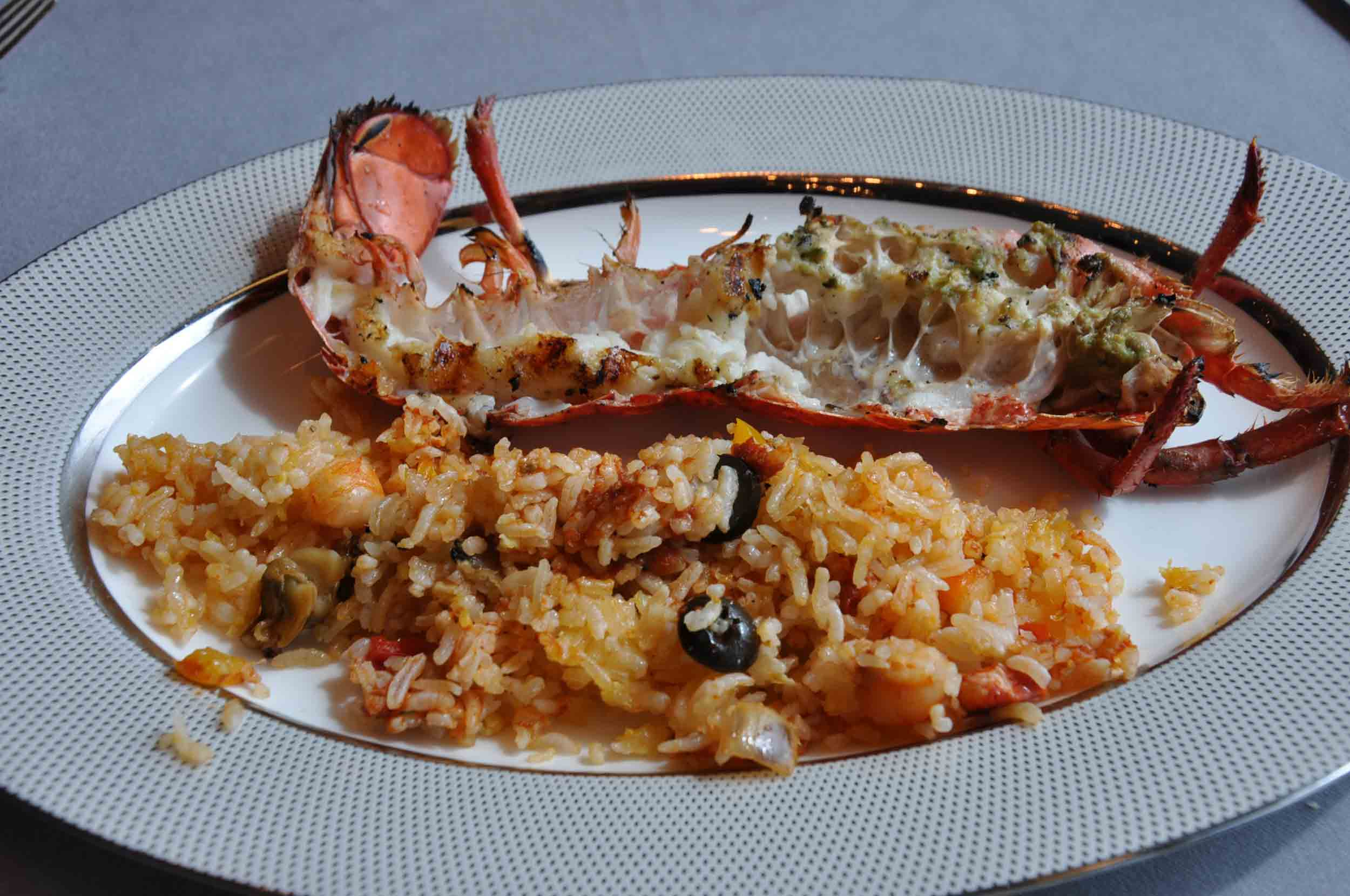 Belon Champagne Sunday Buffet lobster rice