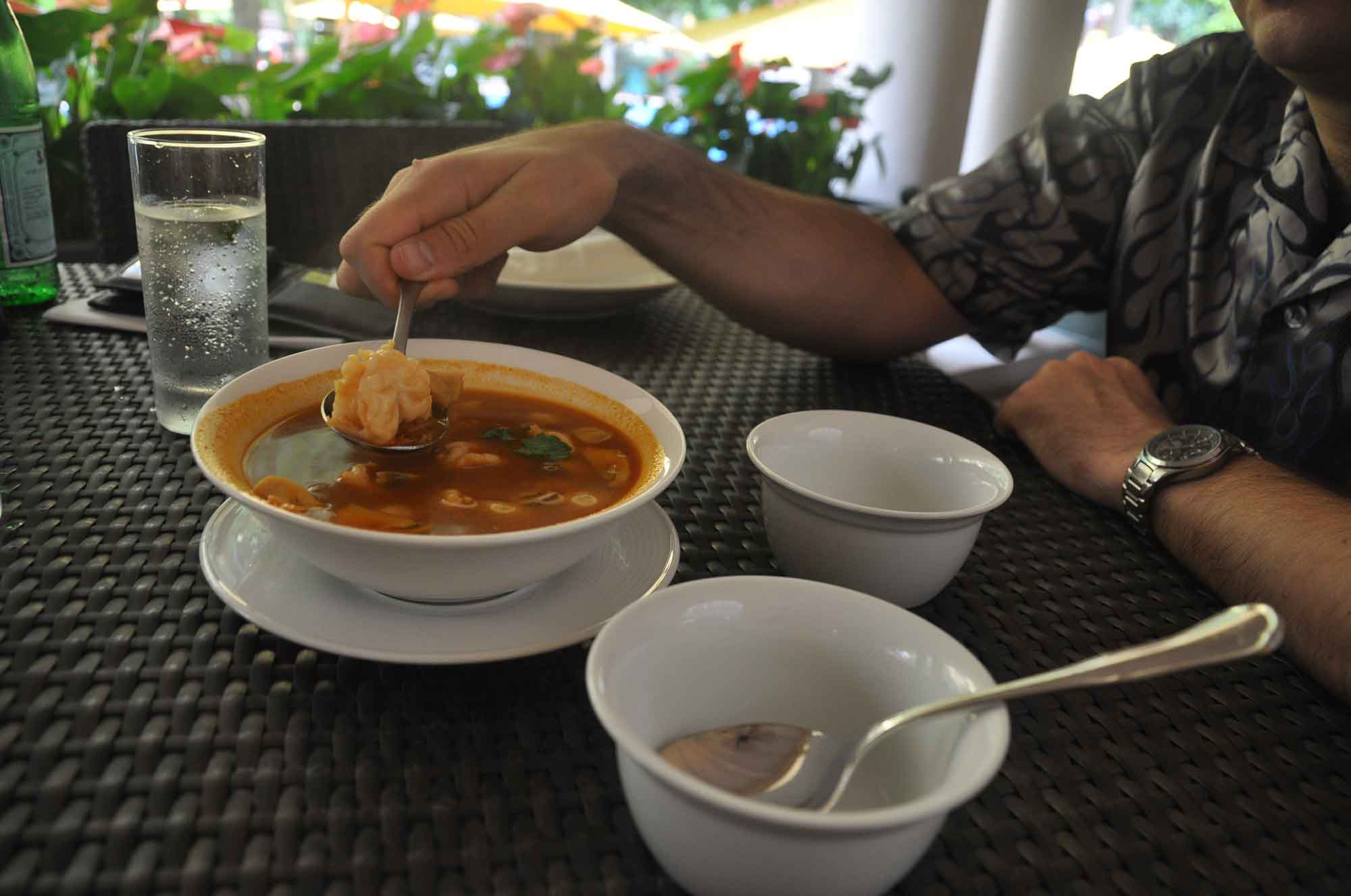 NAAM Thai Tom Yang Soup
