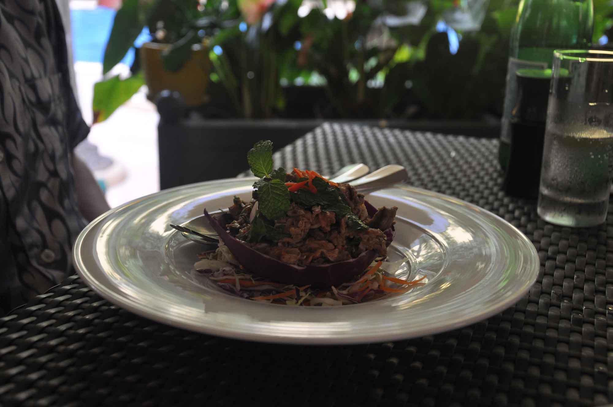 NAAM Thai grilled beef salad