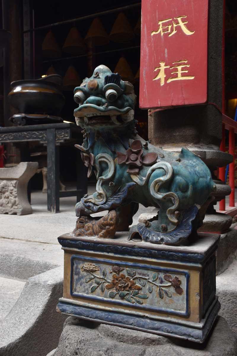 Hong Kung Temple dragon