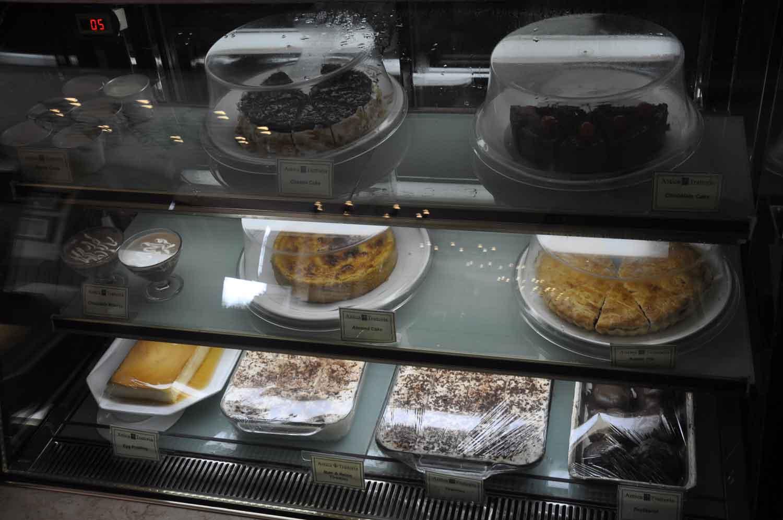 Antica Trattoria Da Isa dessert selection