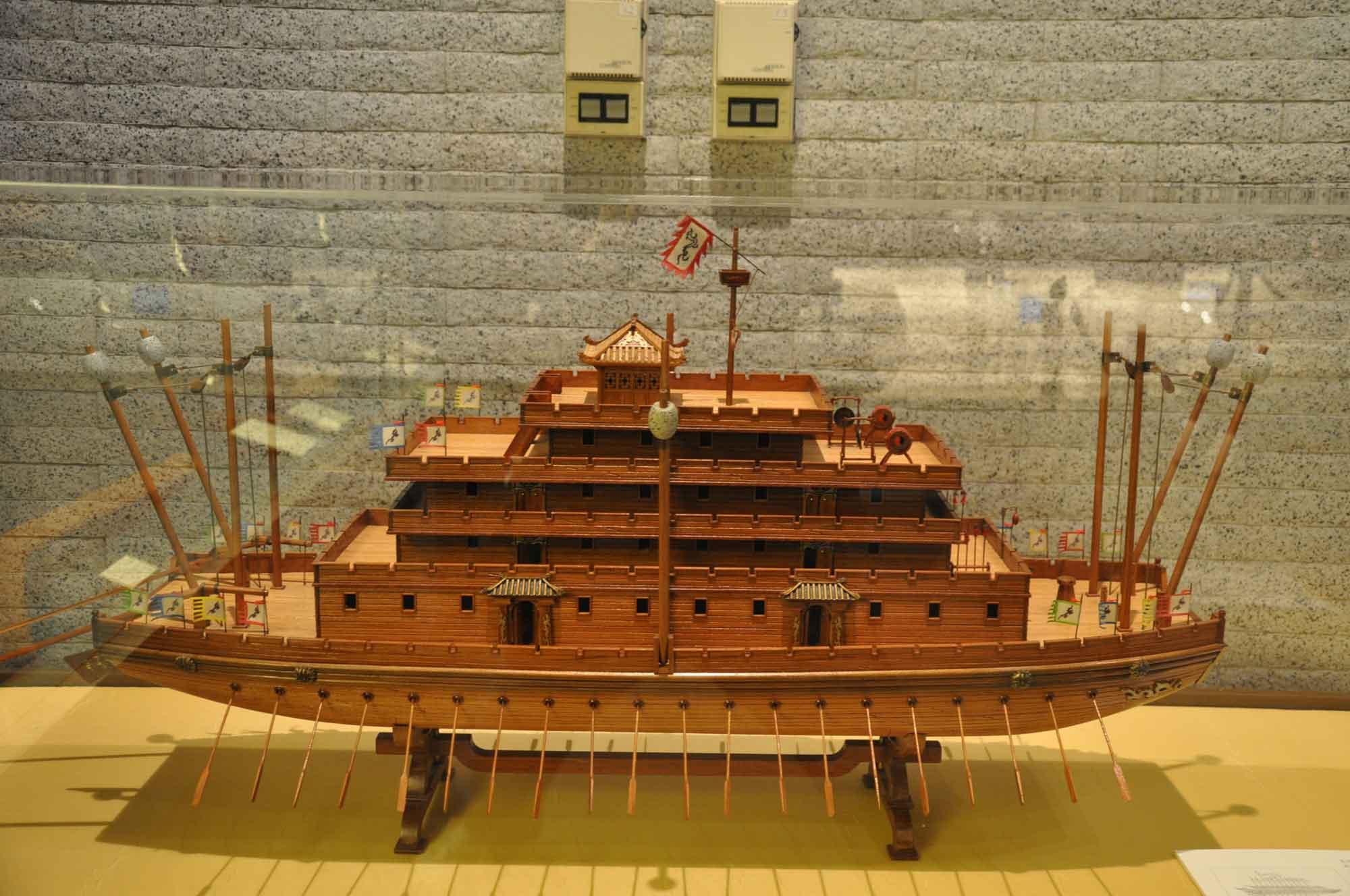 Maritime Museum Macau Chinese ship