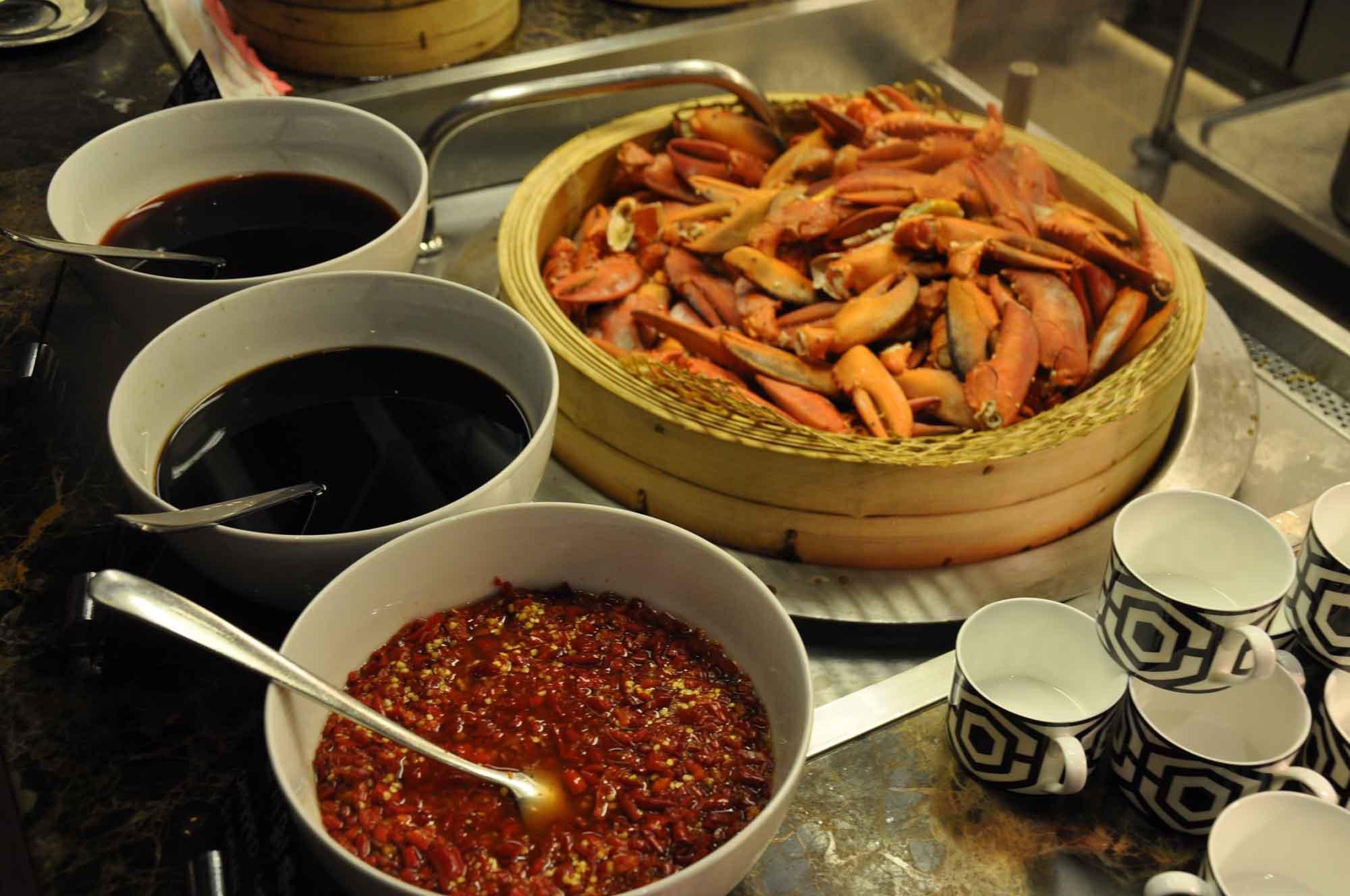 Urban Kitchen Macau seafood selection