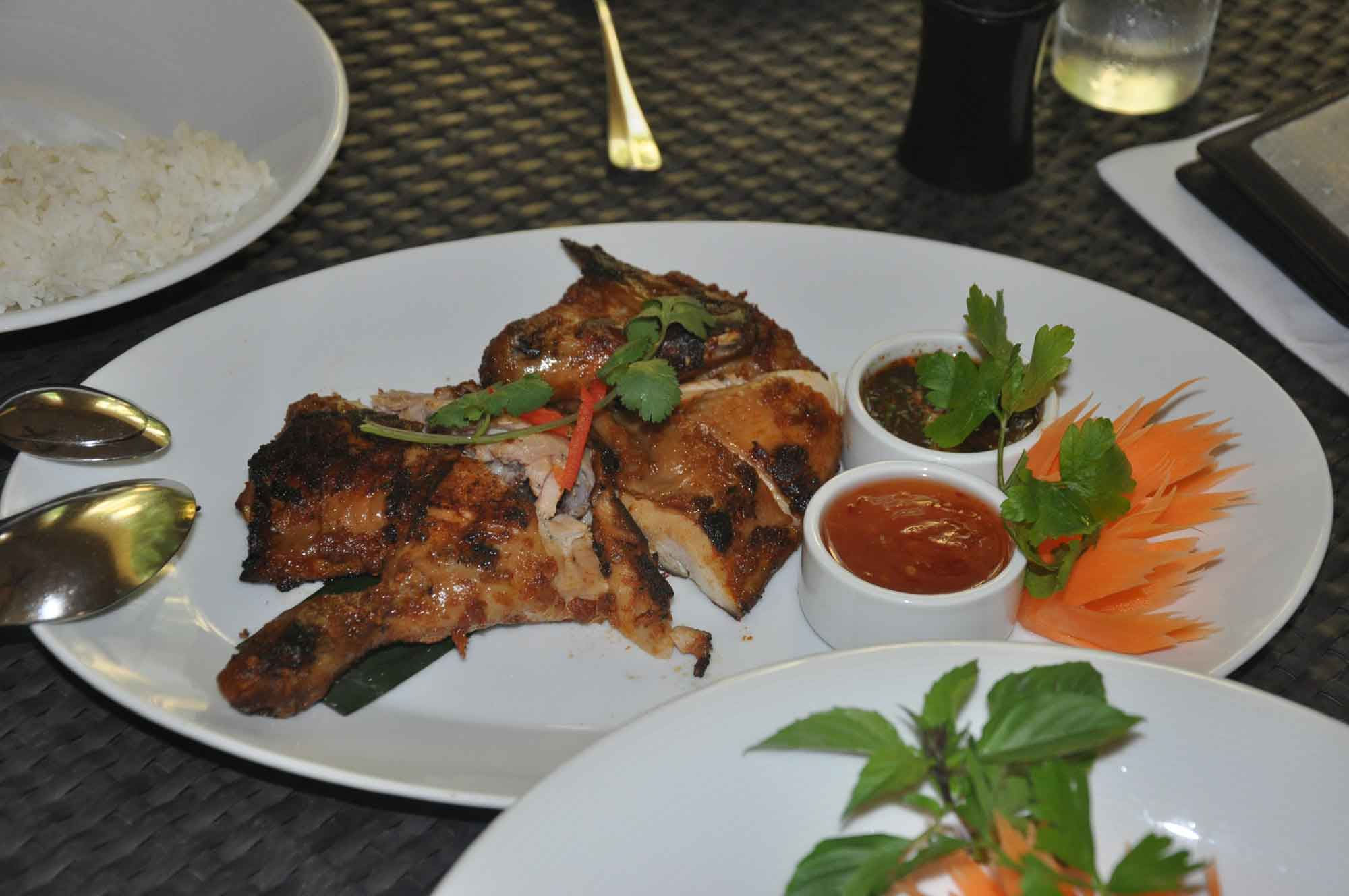 NAAM Thai grilled chicken