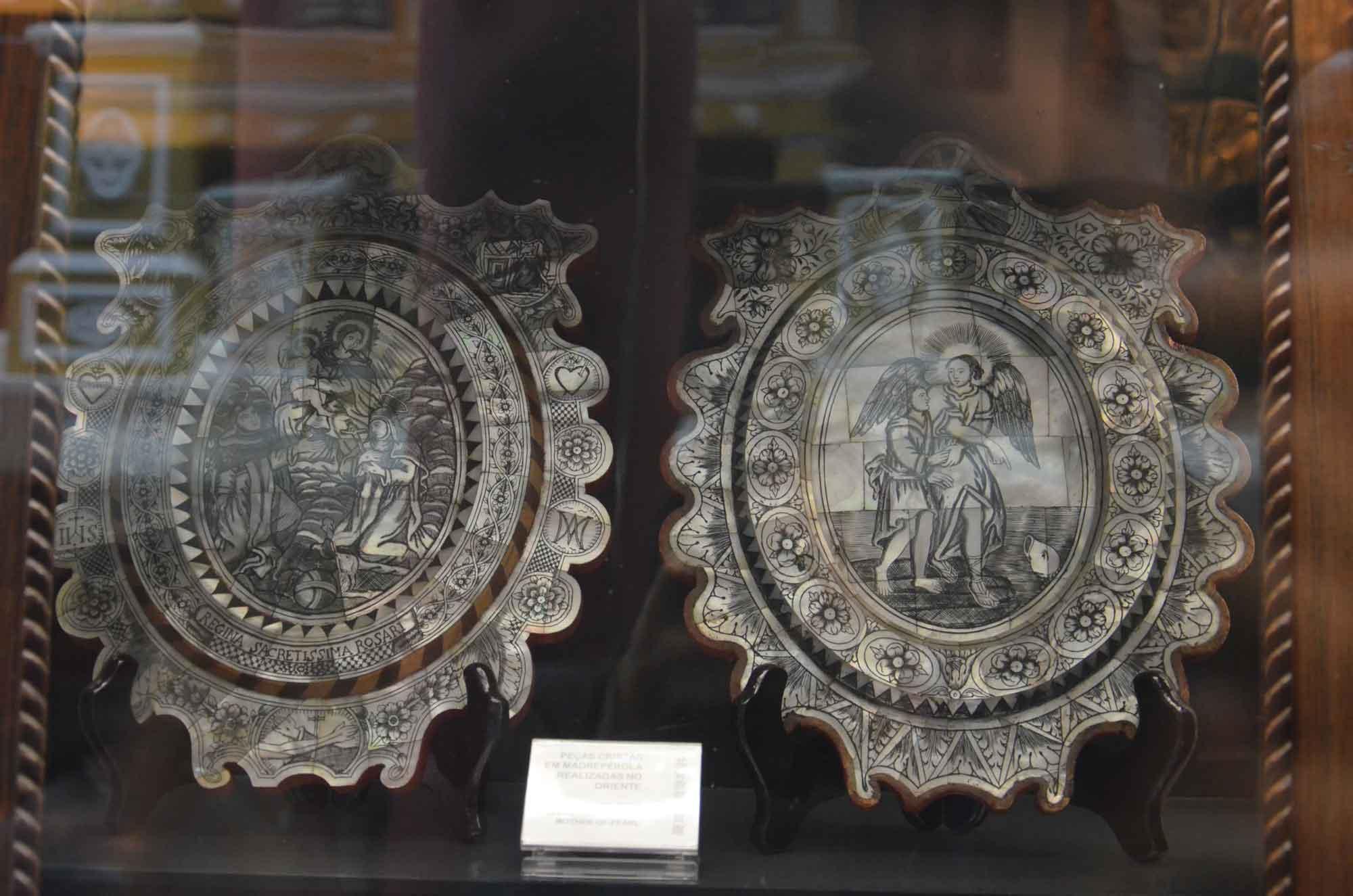 Macau Museum Christian china plates