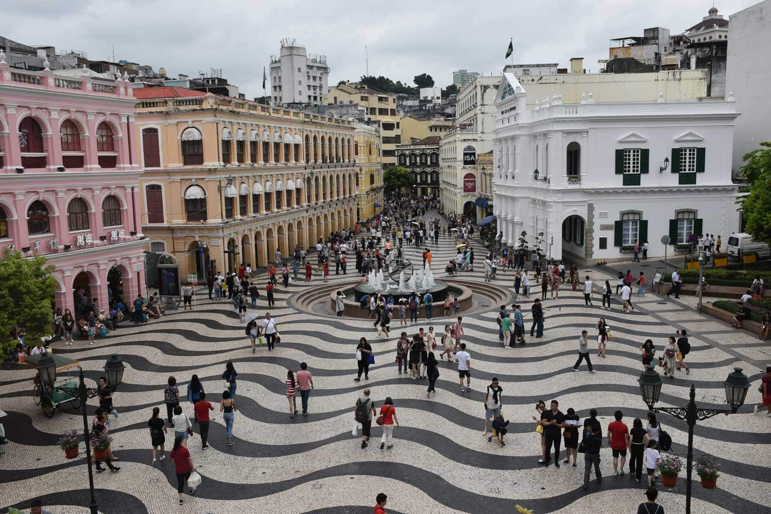 Macau World Heritage Site: Senado Square