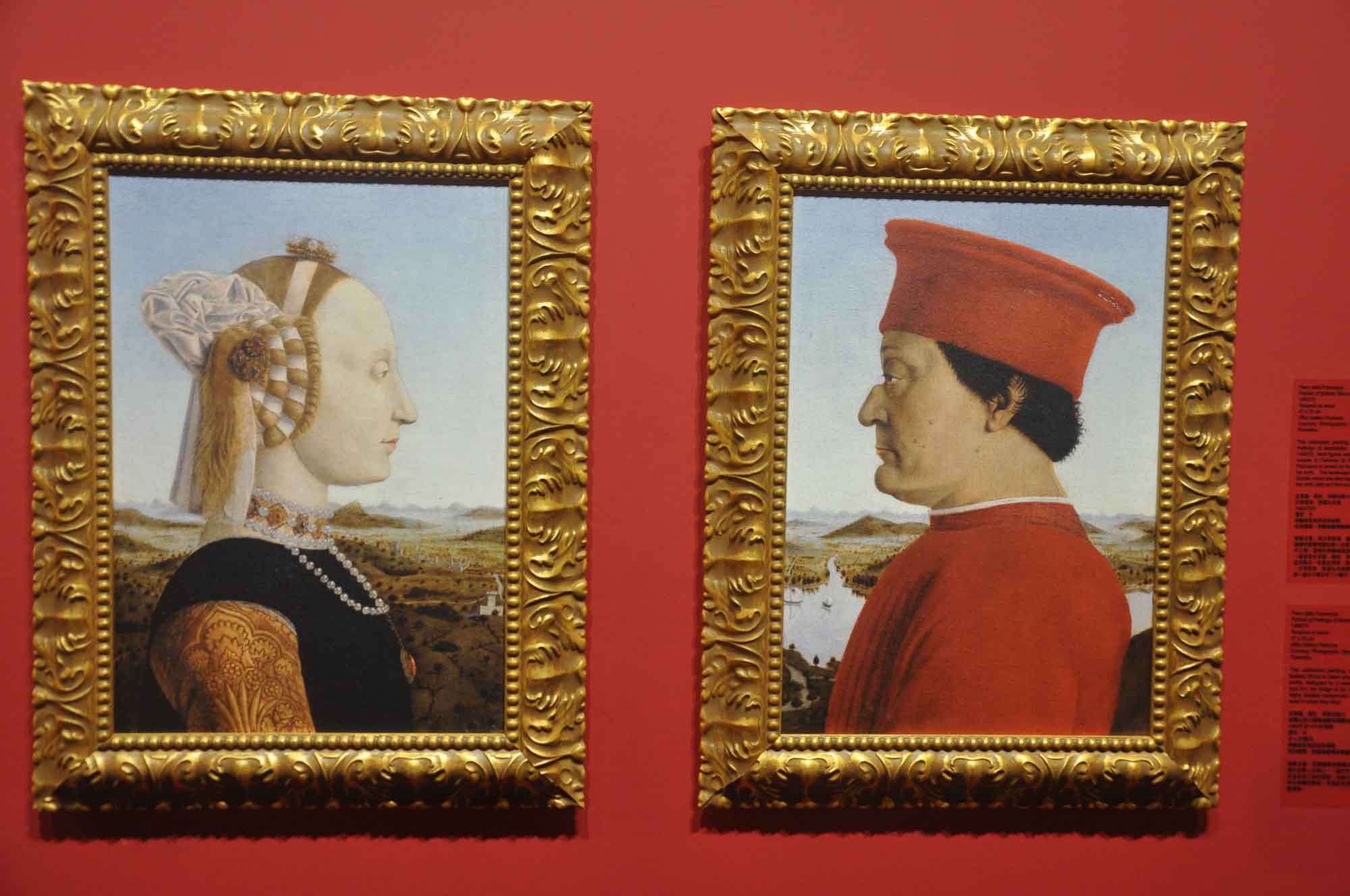 Duke and Duchess of Urbino - Piero della Francesca