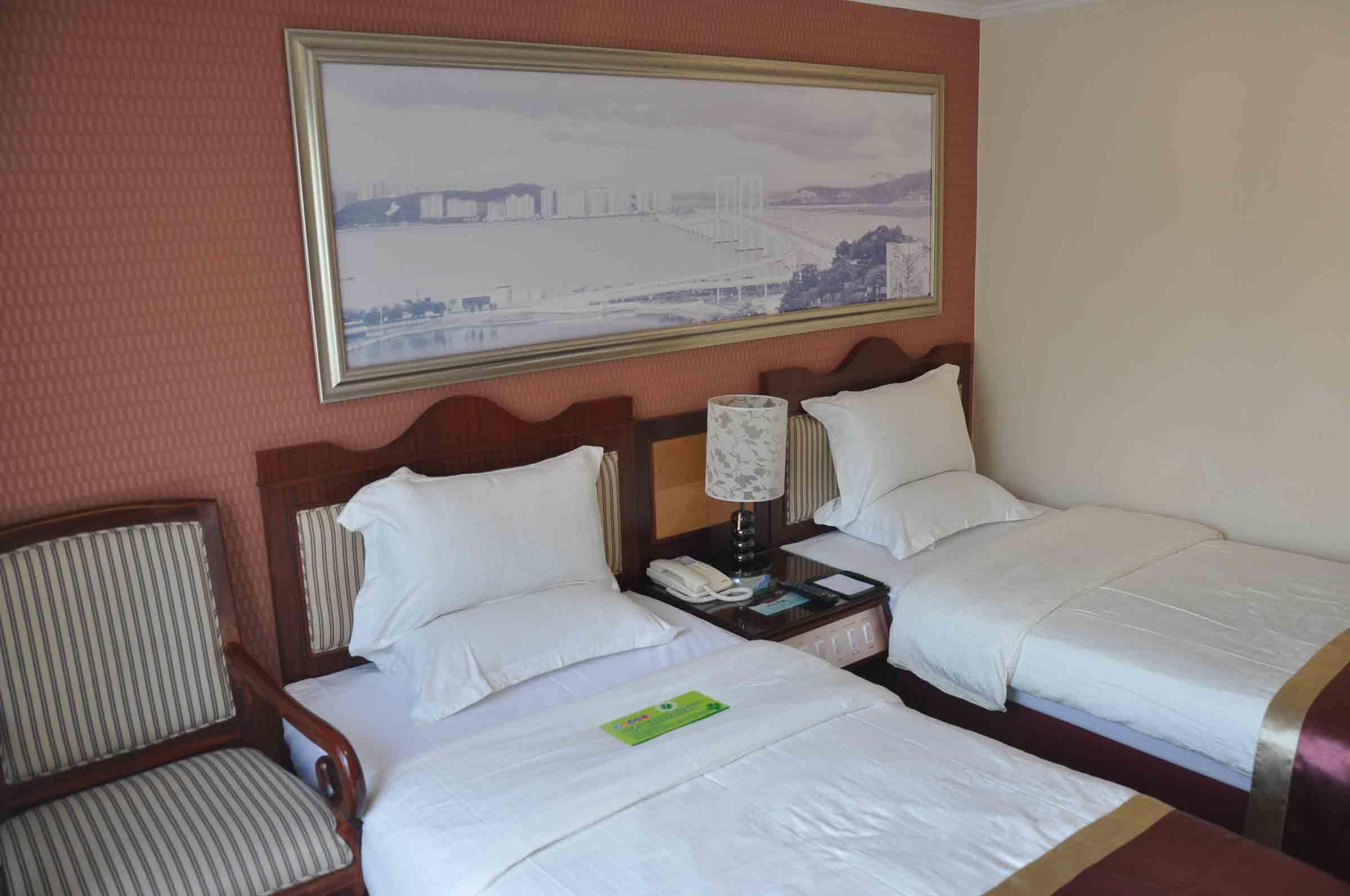 Standard Twin Room Hotel Guia Macau