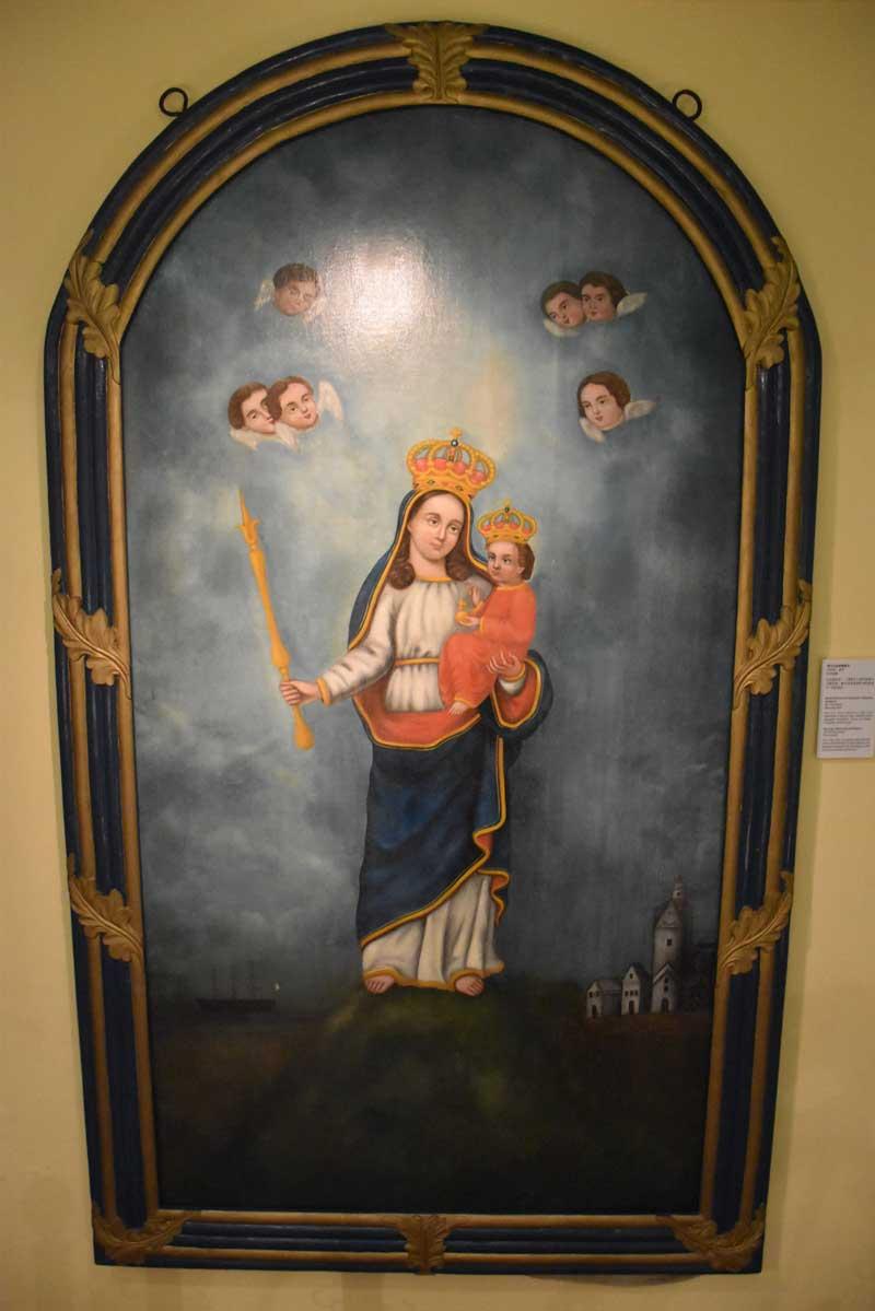 Treasure of Sacred Art of St. Joseph's Seminary painting