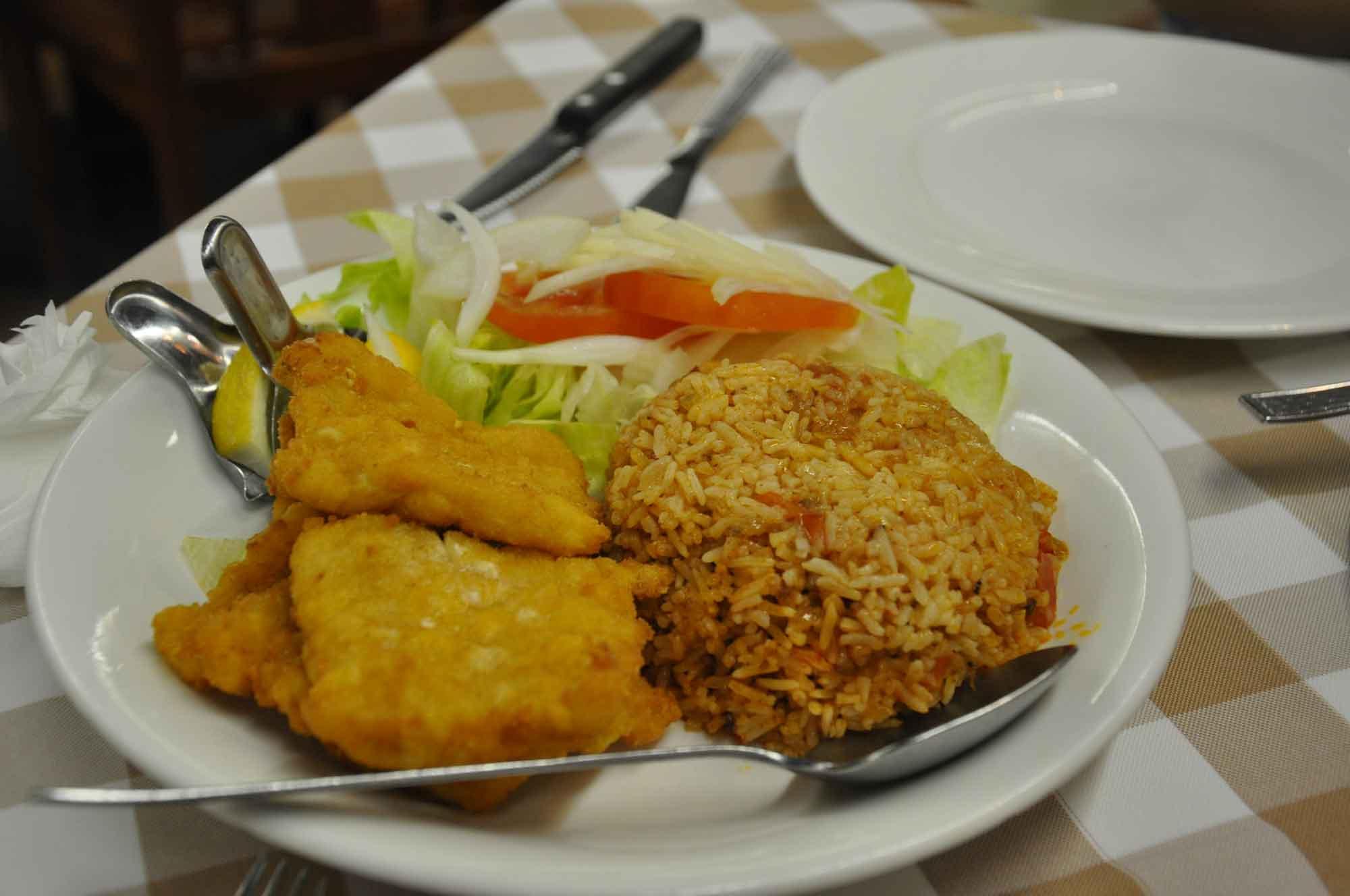 A Lorcha Macau fish fillet