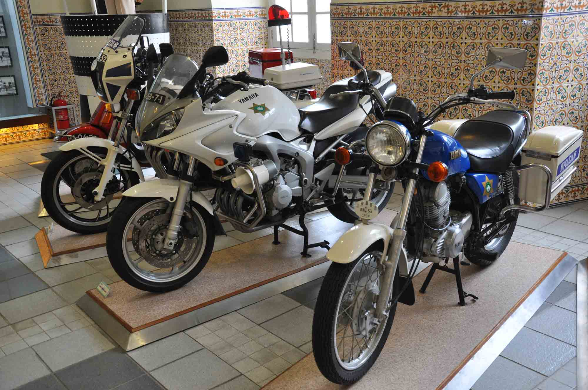 Museum of Public Security Forces police motorcycles