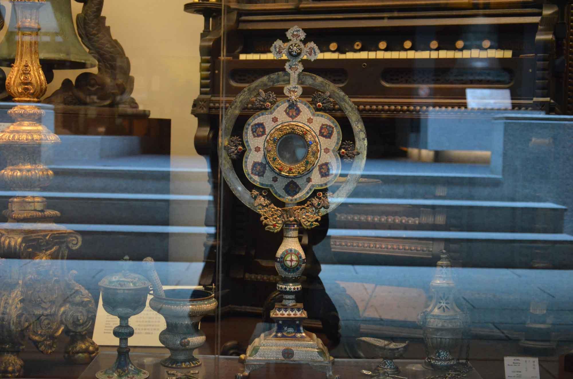 Macau Museum fine Christian relic