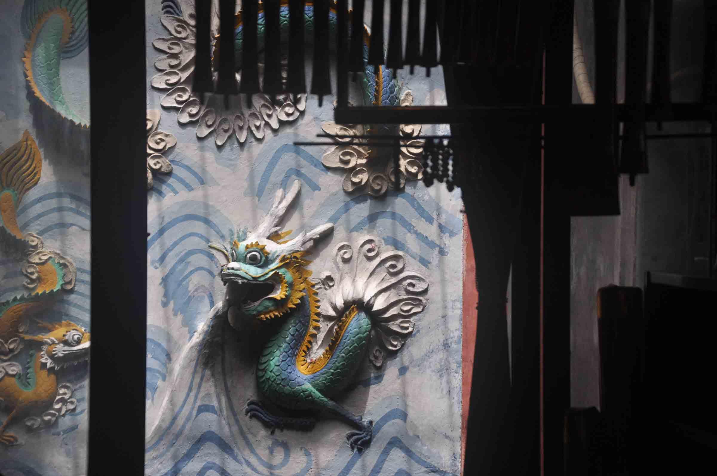 Tam Kung Temple dragon