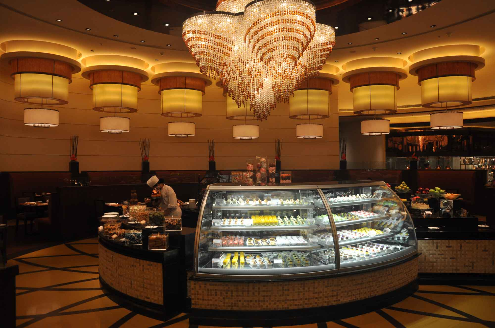 Grand Orbit Macau dessert station