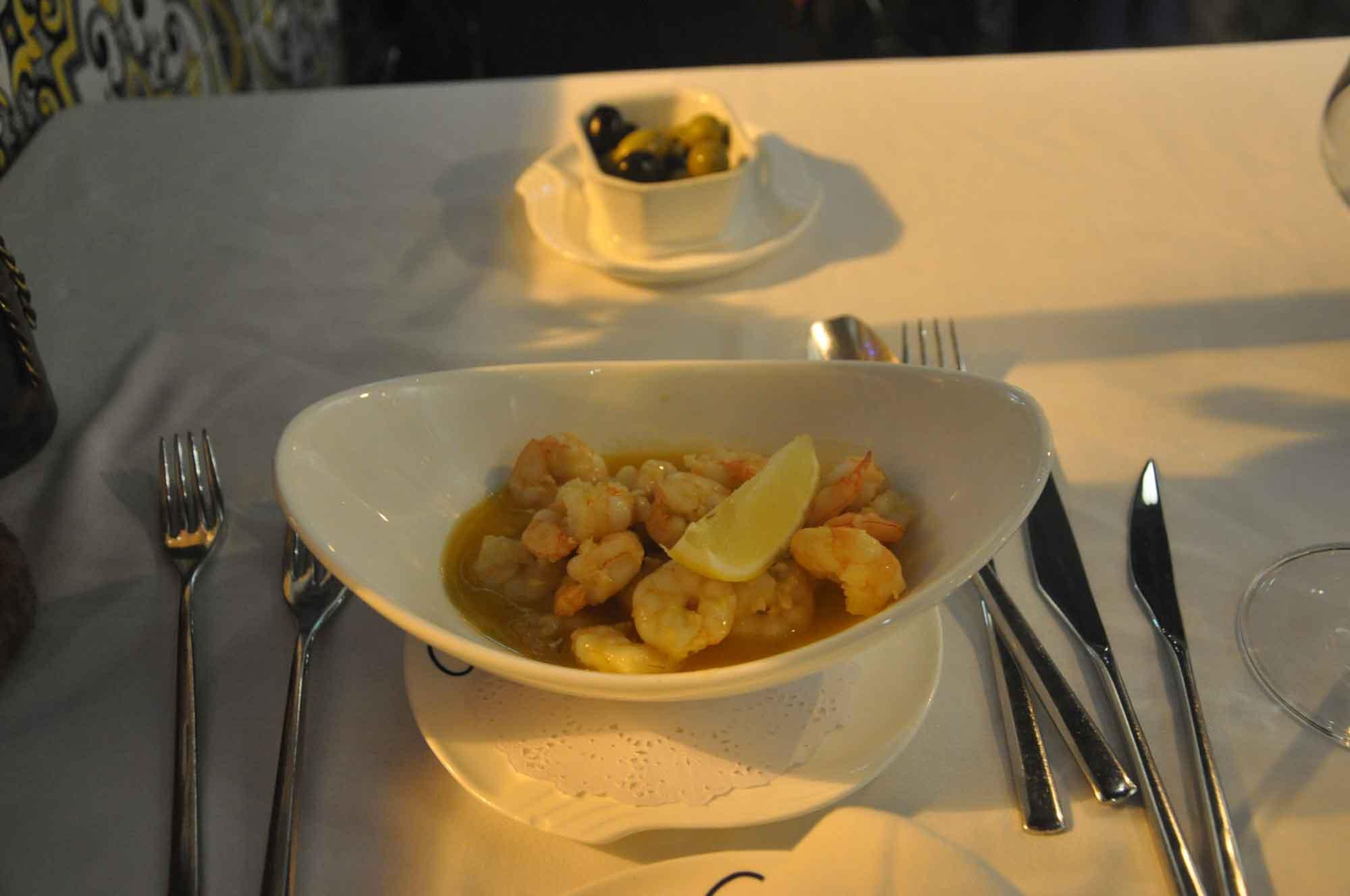 Antonio Macau shrimp