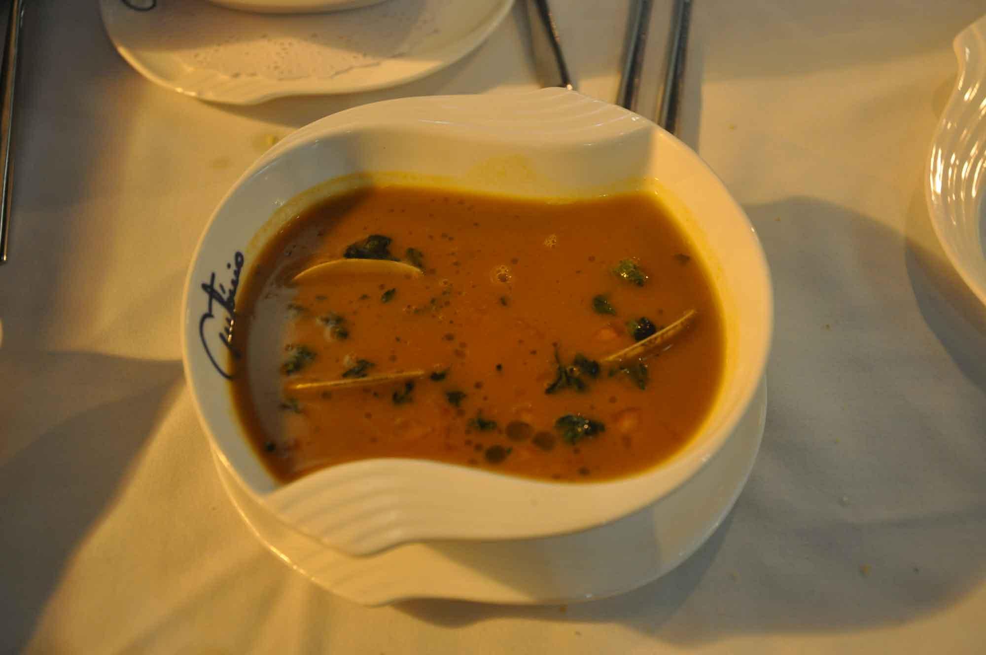 Antonio Macau soup