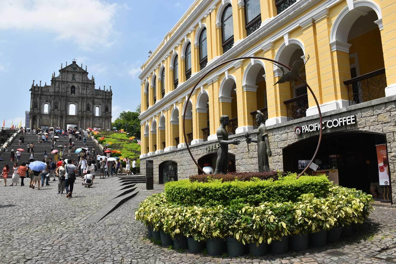 Macau World Heritage Site: Ruins of St. Paul's