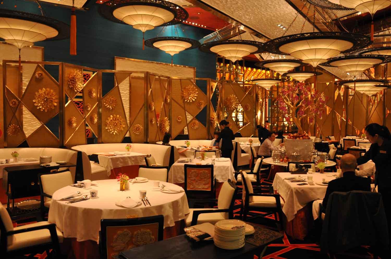Golden Flower Macau seating