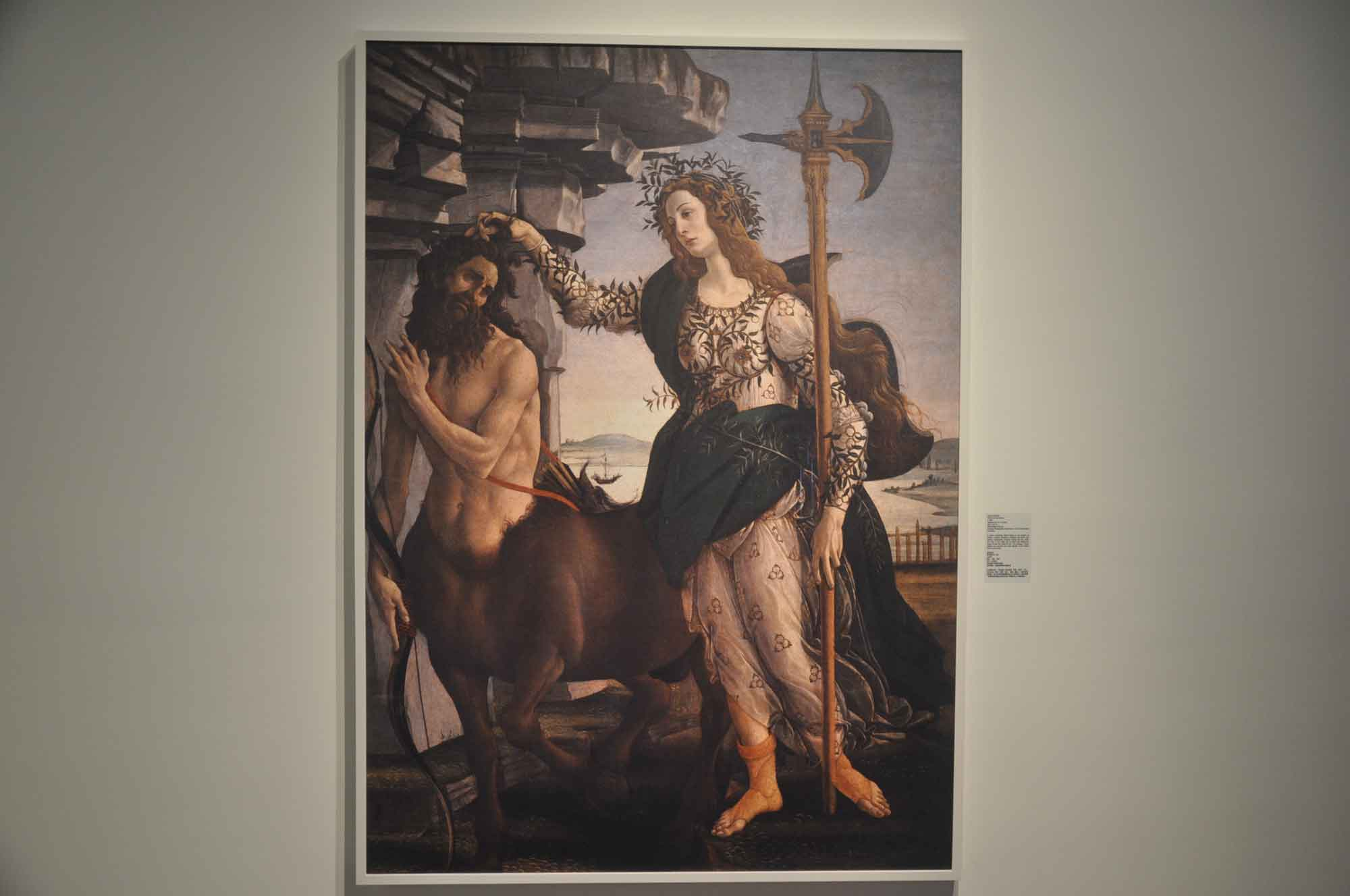 Pallas and the Centaur - Botticelli