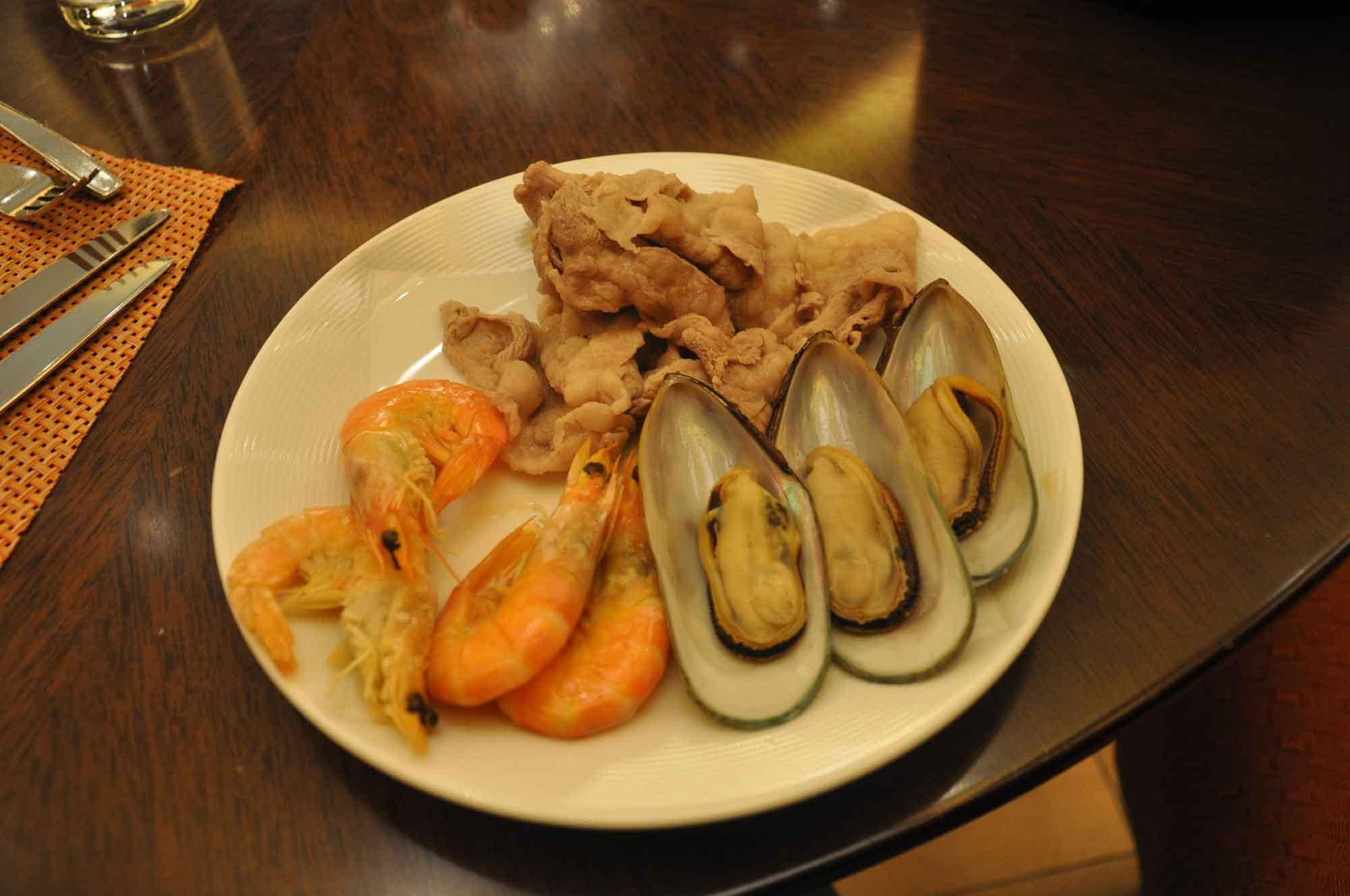 Grand Orbit Macau seafood
