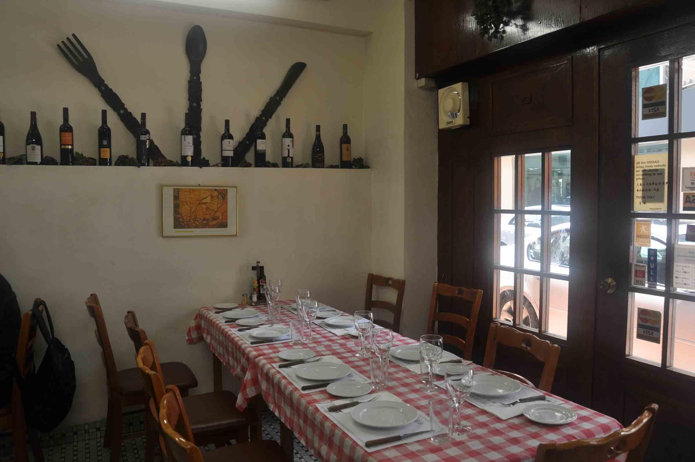 A Petisqueira table