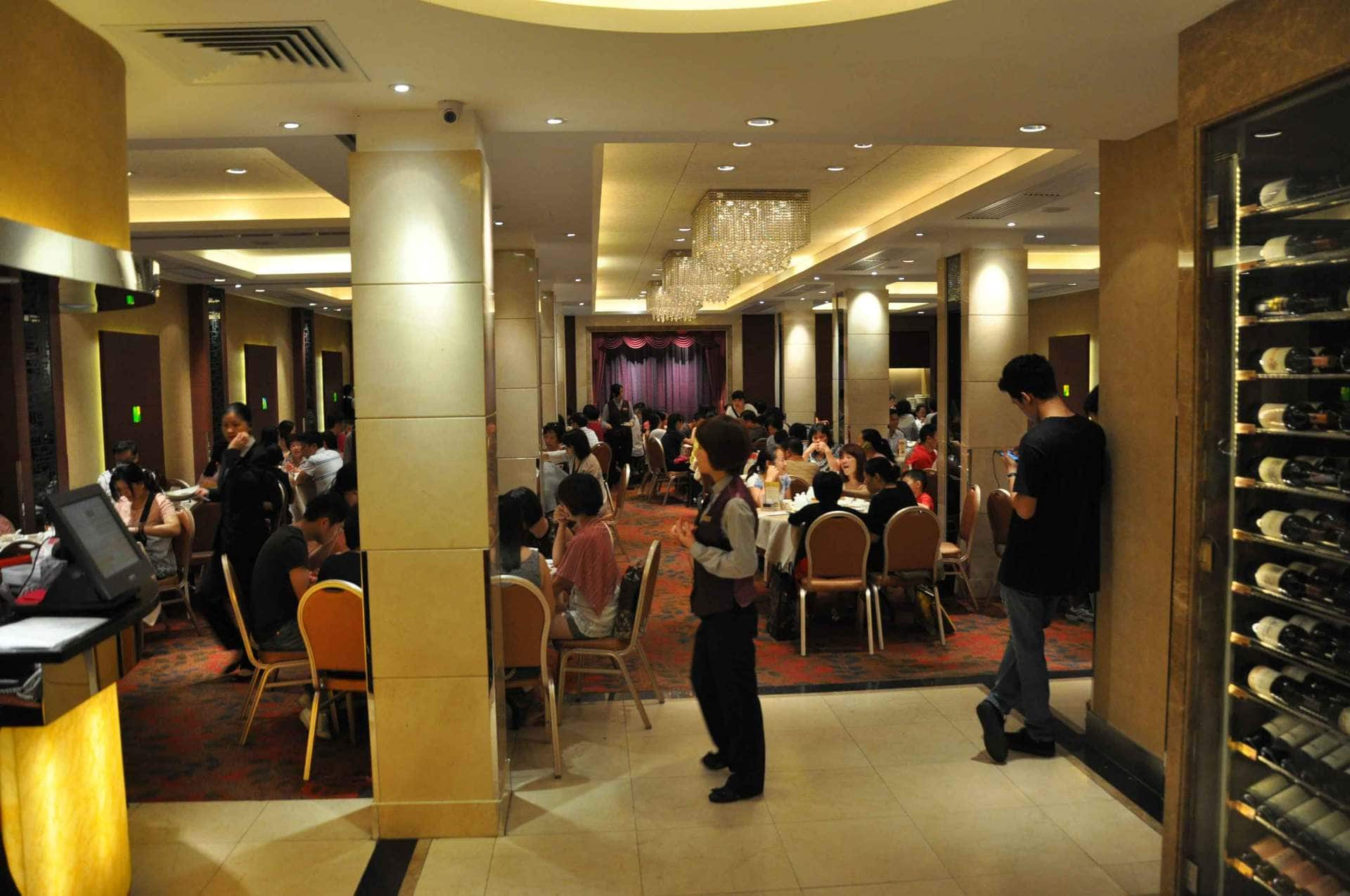 Tou Tou Koi Macau inside seating
