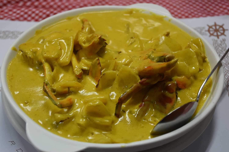 O Santos Macau crab curry
