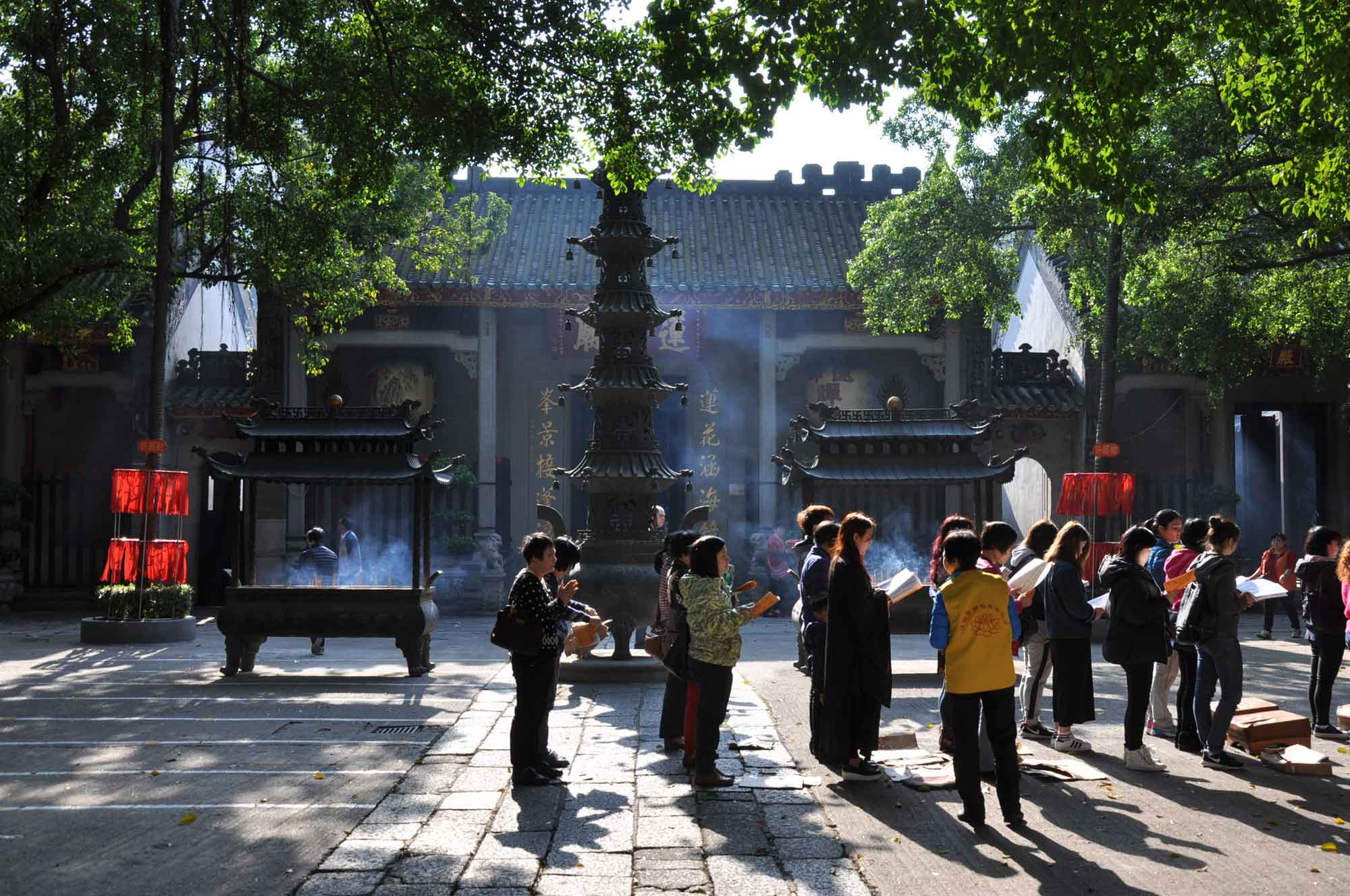 things to do in Macau, visit Lin Fing Temple
