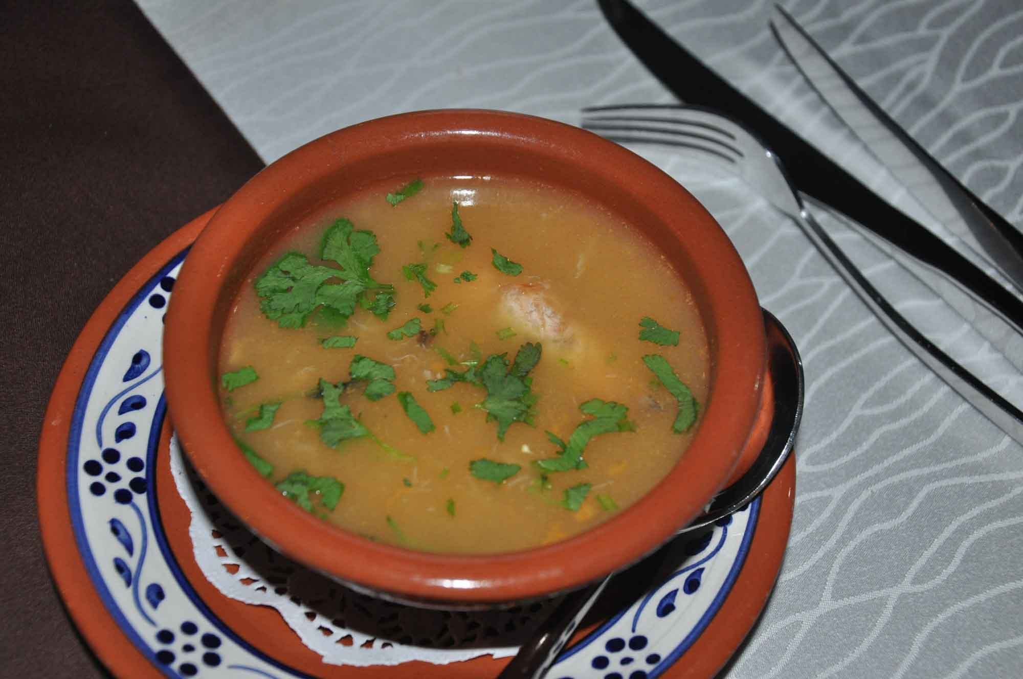 Pousada de Coloane Restaurant seafood soup