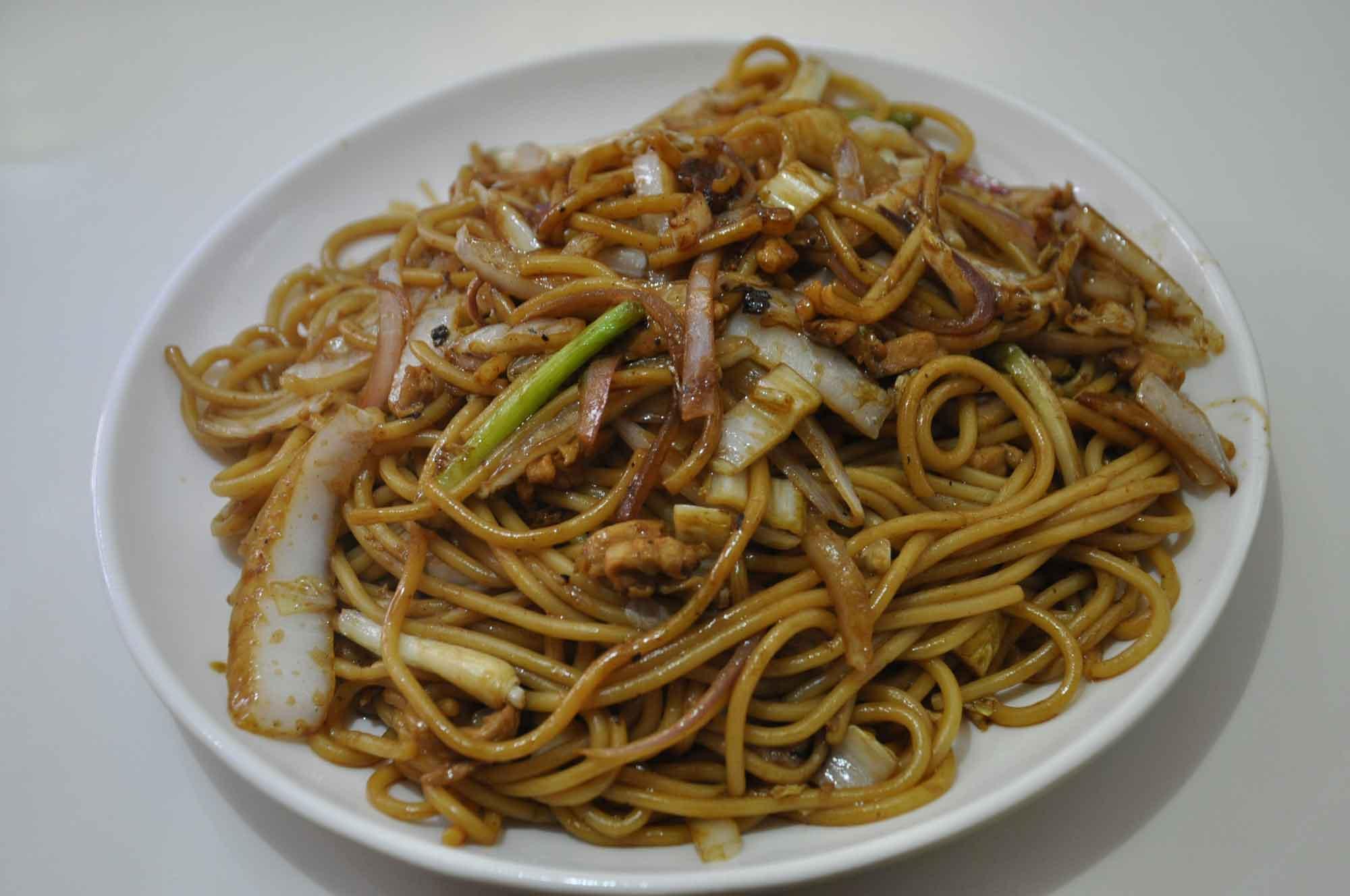 Dragon Mama Macau Mushroom Noodles