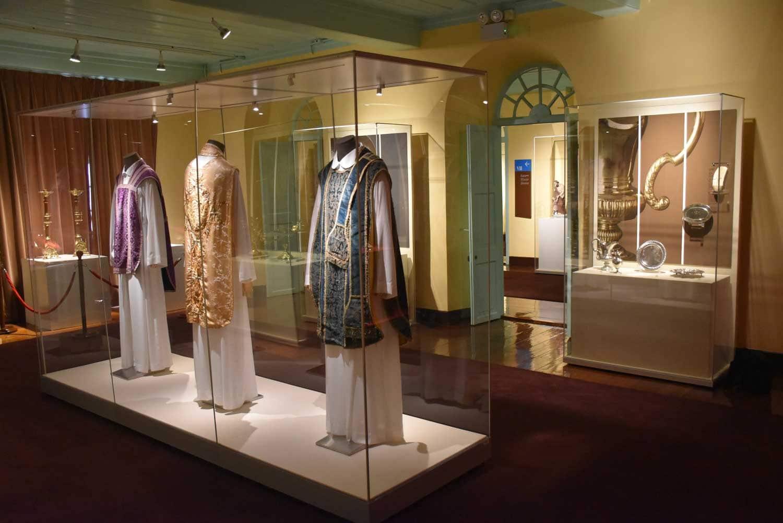 Treasure of Sacred Art of St. Joseph's Seminary robes