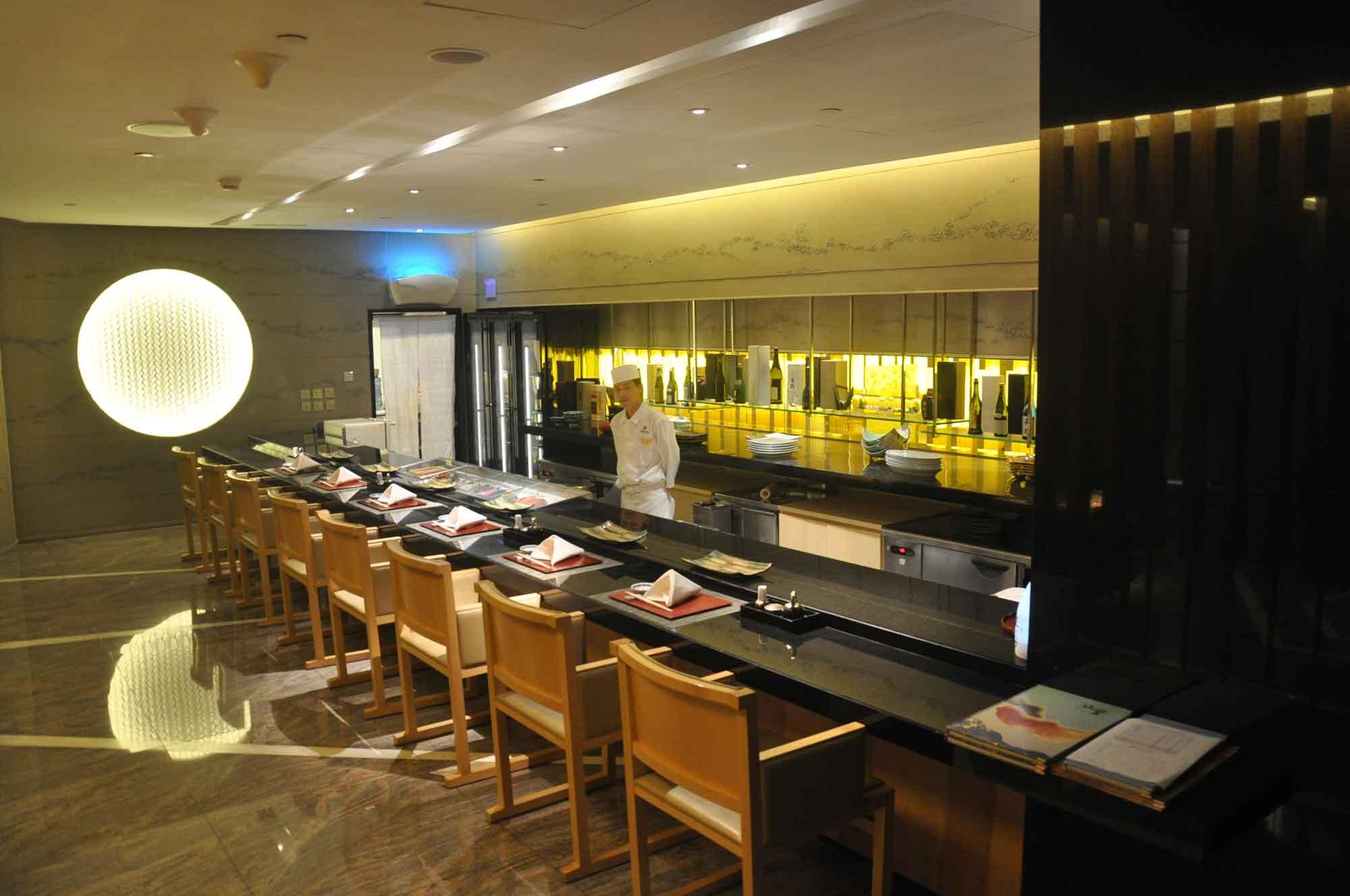Yamazato sushi bar Galaxy Macau