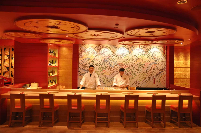 Macau Michelin Restaurants: Mizumi sushi bar