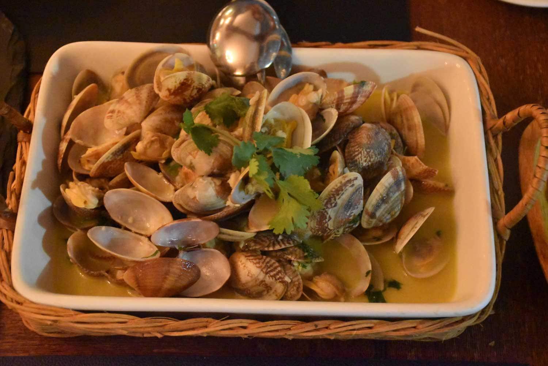 Antica Trattoria Da Isa clams
