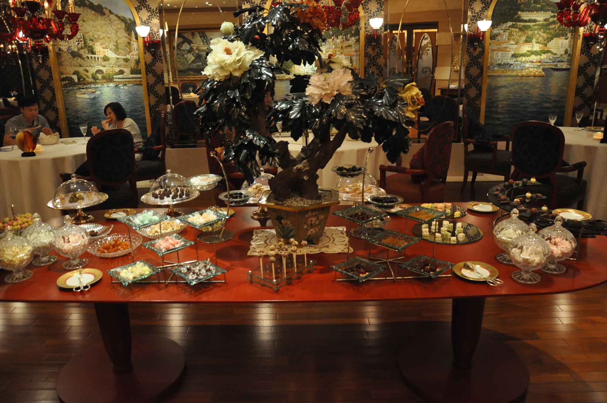 Casa Don Alfonso Macau decorative table