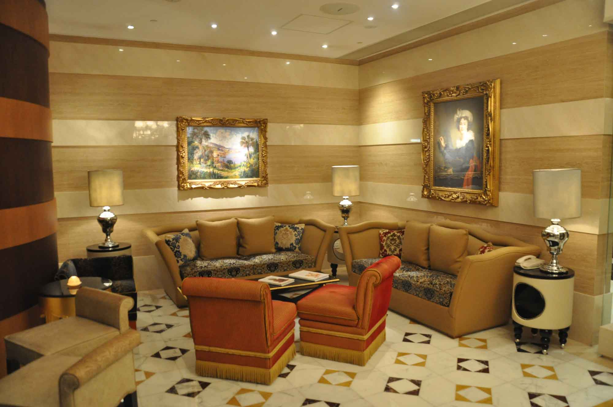 Casa Don Alfonso Macau lounge section