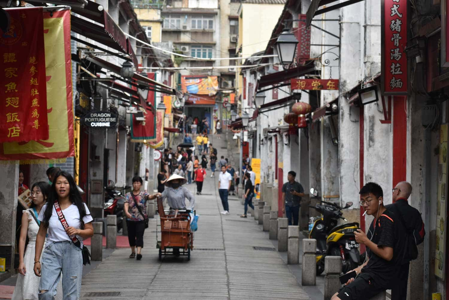 Street of Happiness Macau