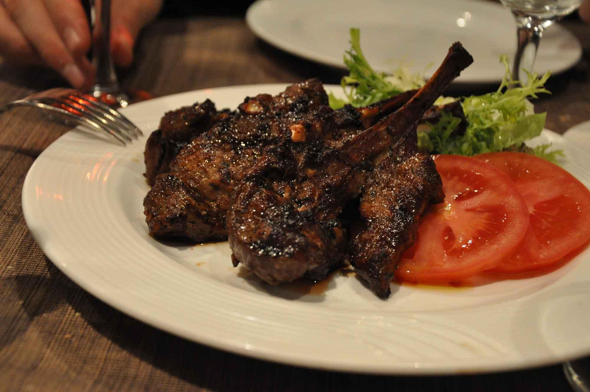 Litoral Macau Grilled Lamb Chop