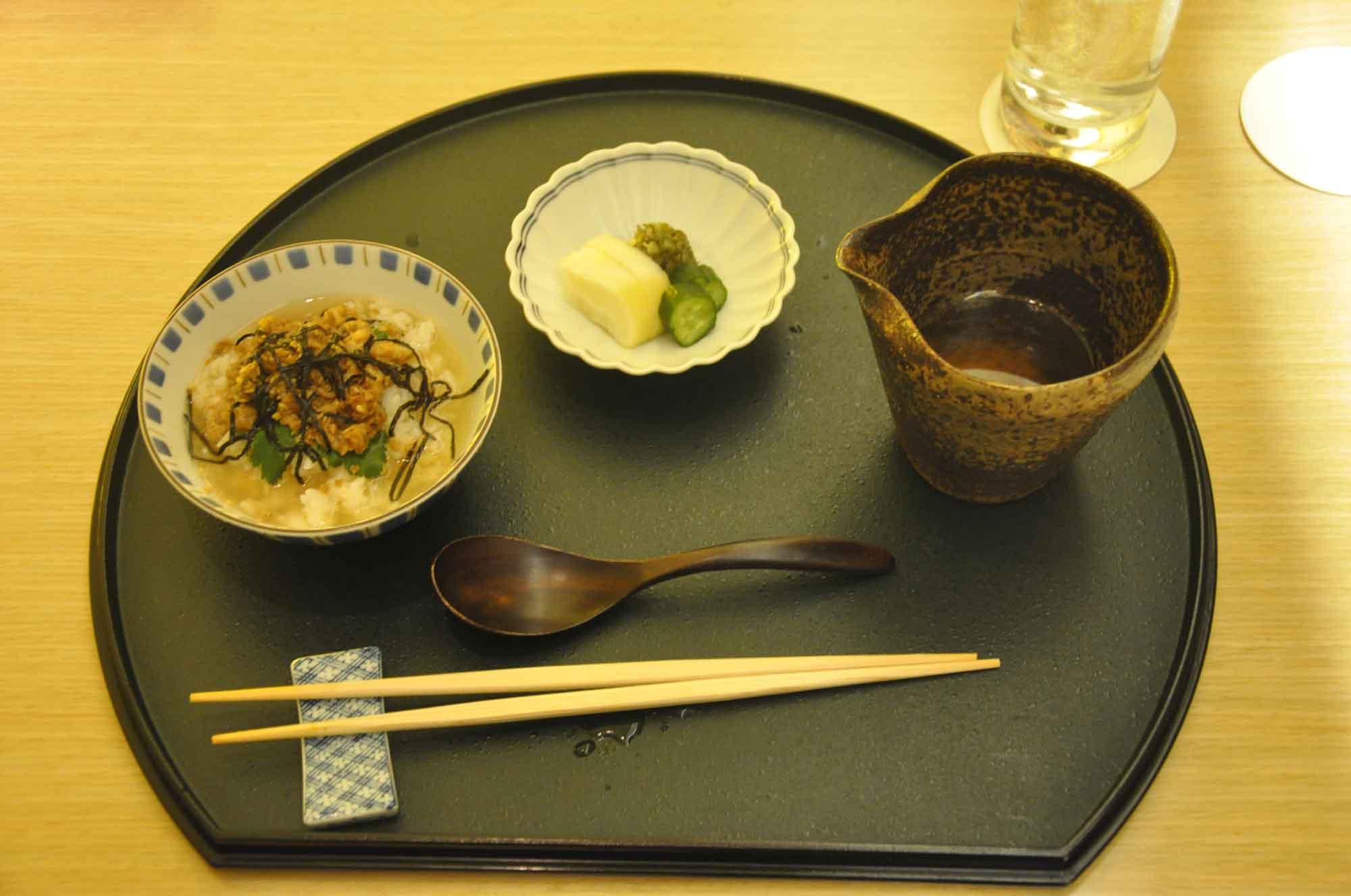 Yamazato Macau Steamed Rice with Sea Bream