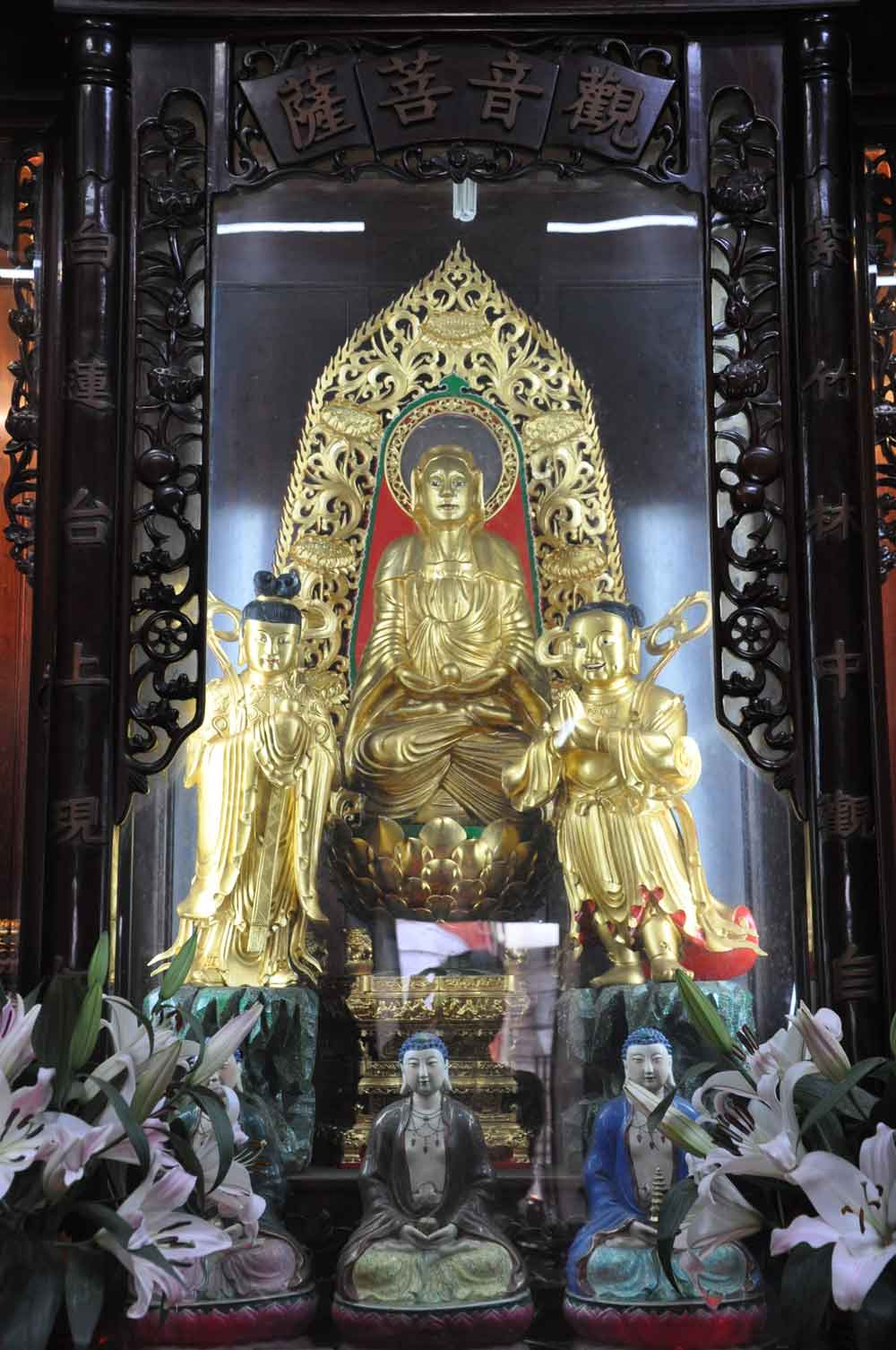 Taipa Village Temples: Kun Iam Temple altar
