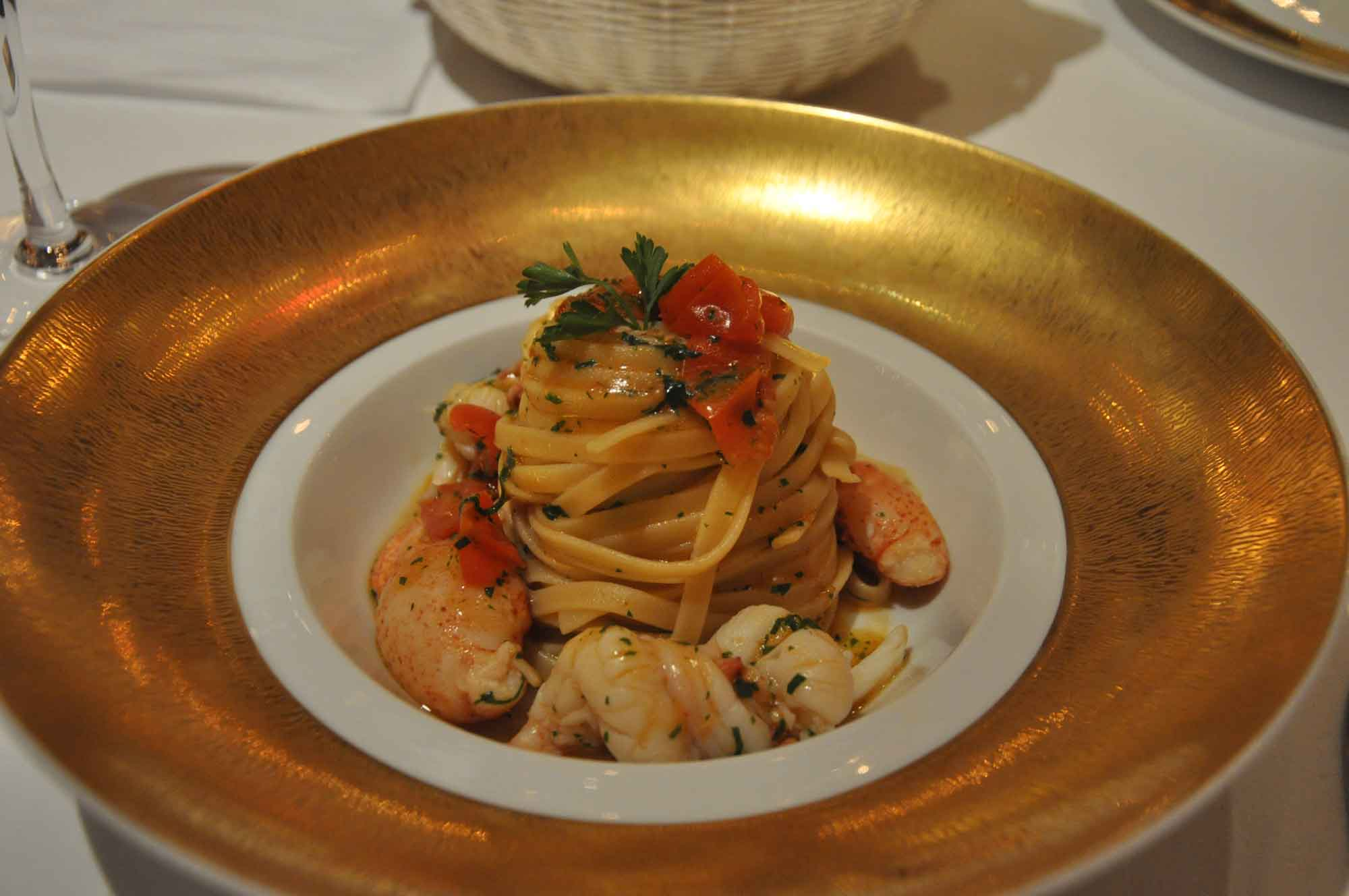 Casa Don Afonso lobster linguini