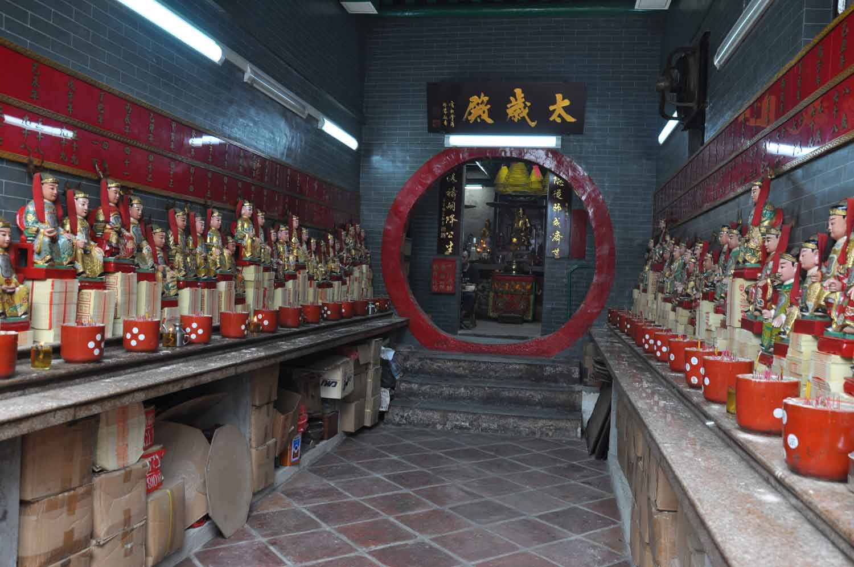 Pao Gong Temple Macau main altar
