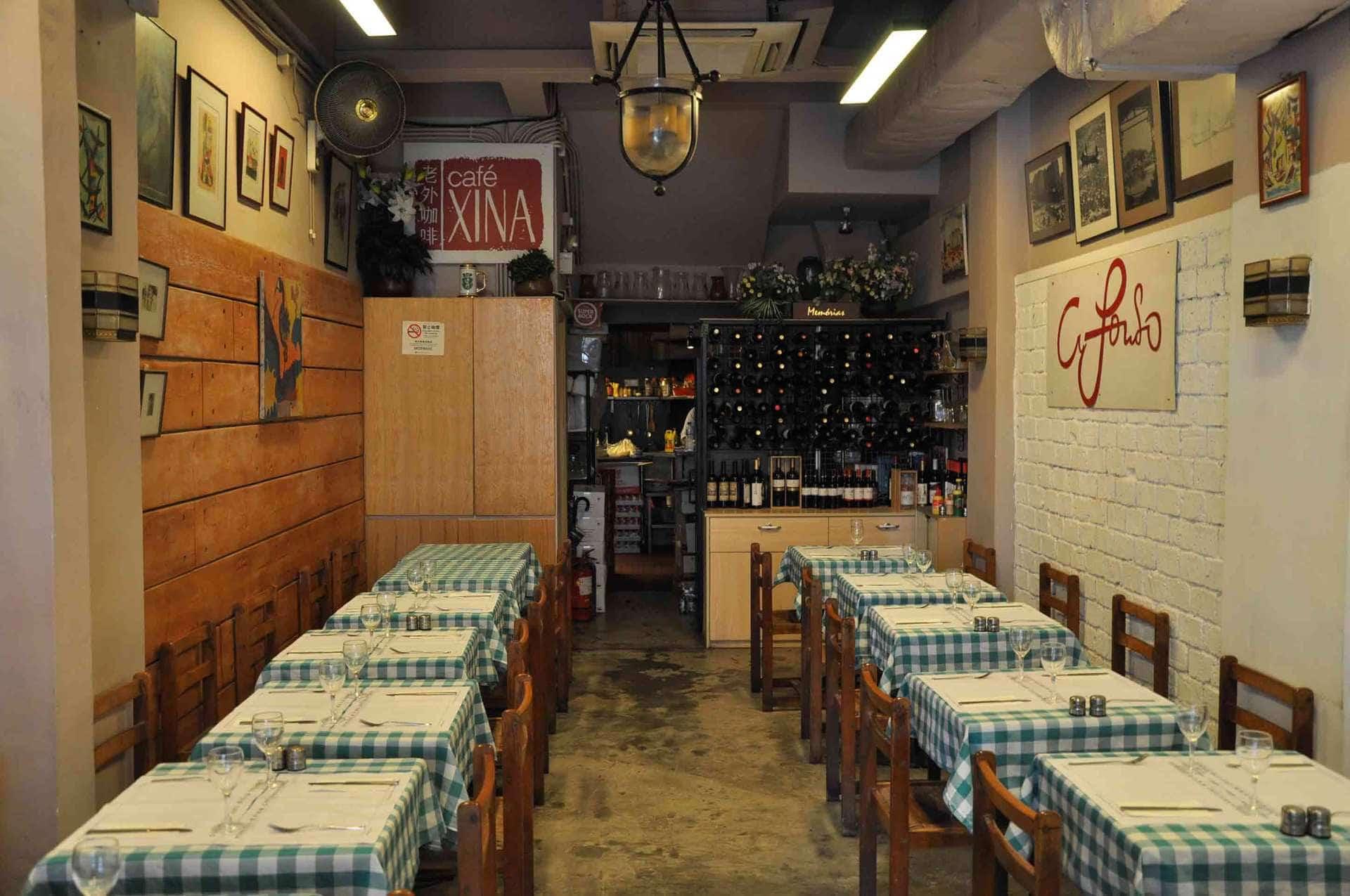 Cafe Xina Macau interior