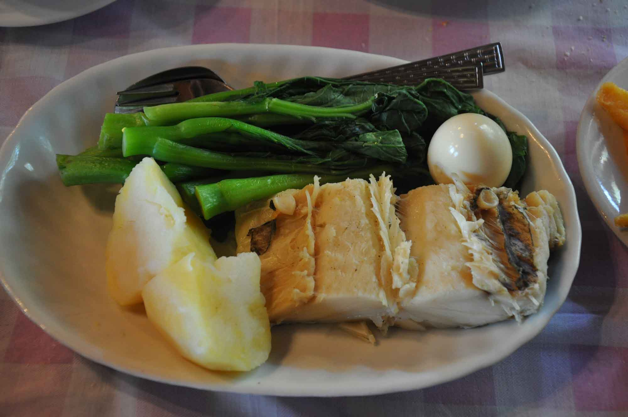 Fernando Macau cod fish
