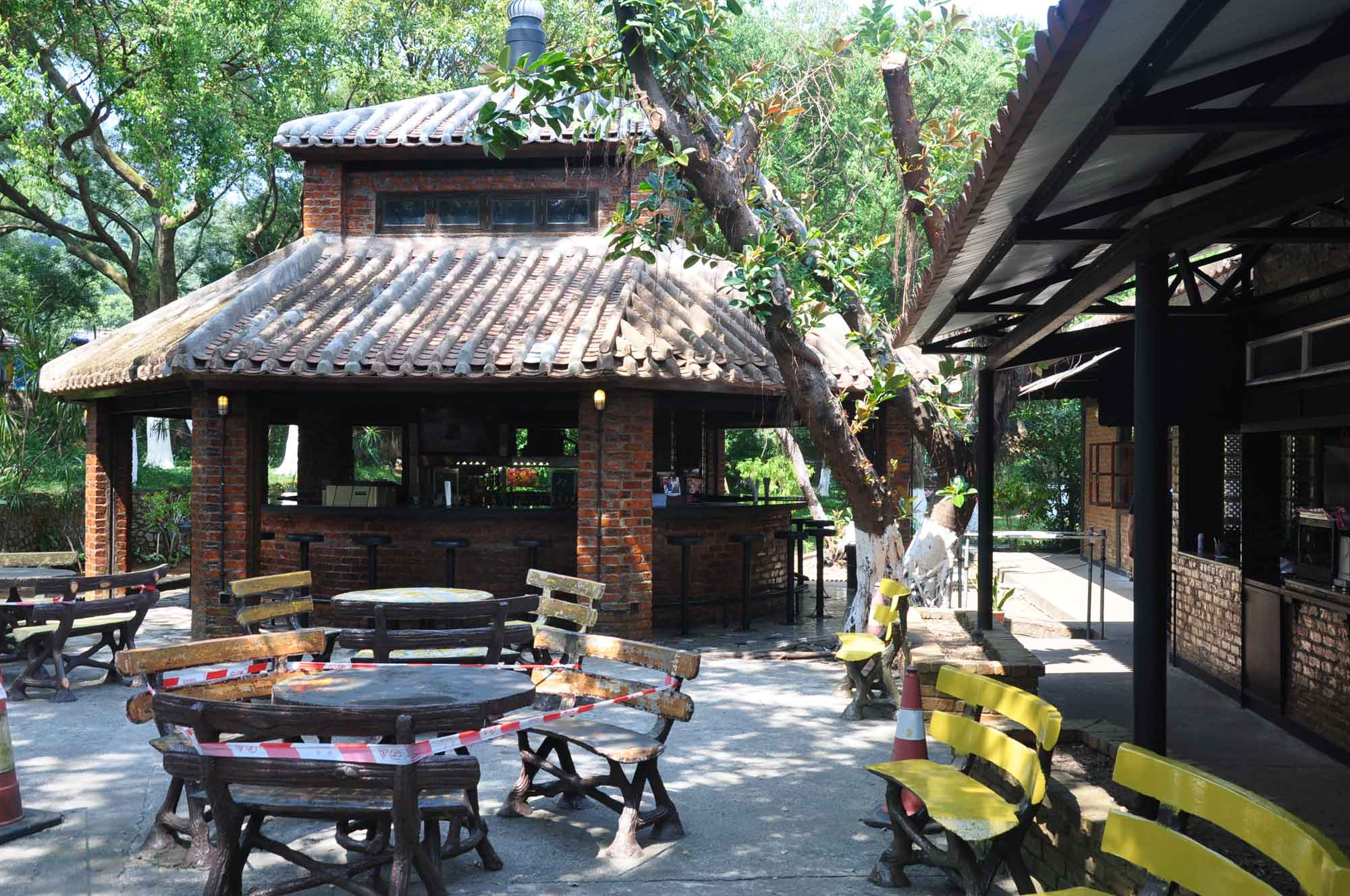 Fernando Macau outdoor beer garden