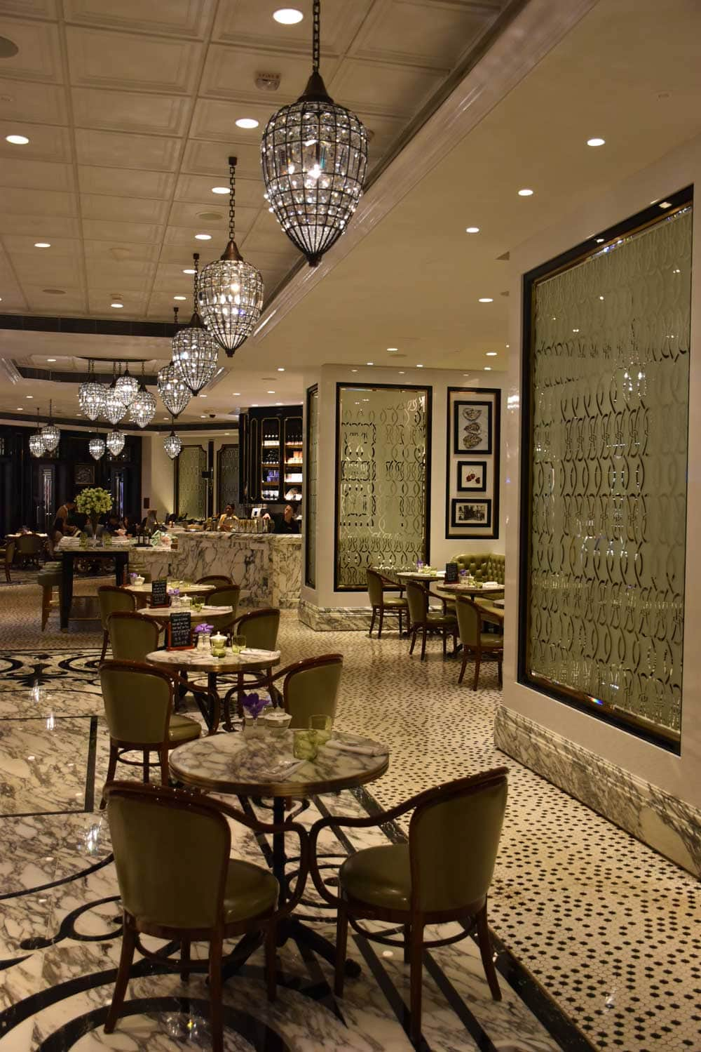 Ritz-Carlton Cafe Macau interior
